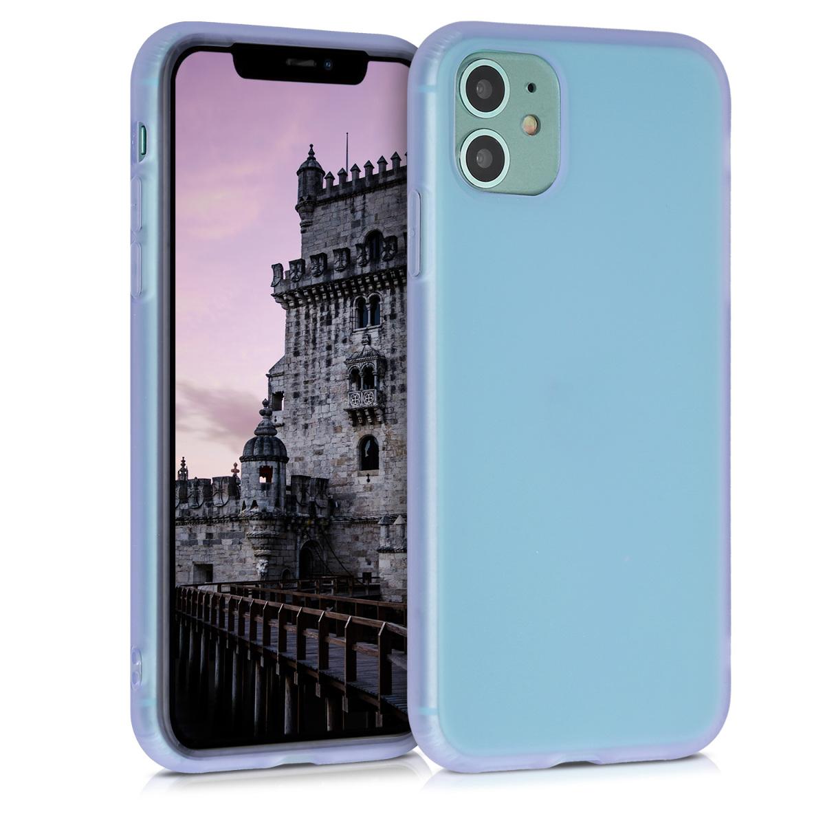 Kvalitní silikonové TPU  pouzdro pro Apple iPhone 11 - fialový