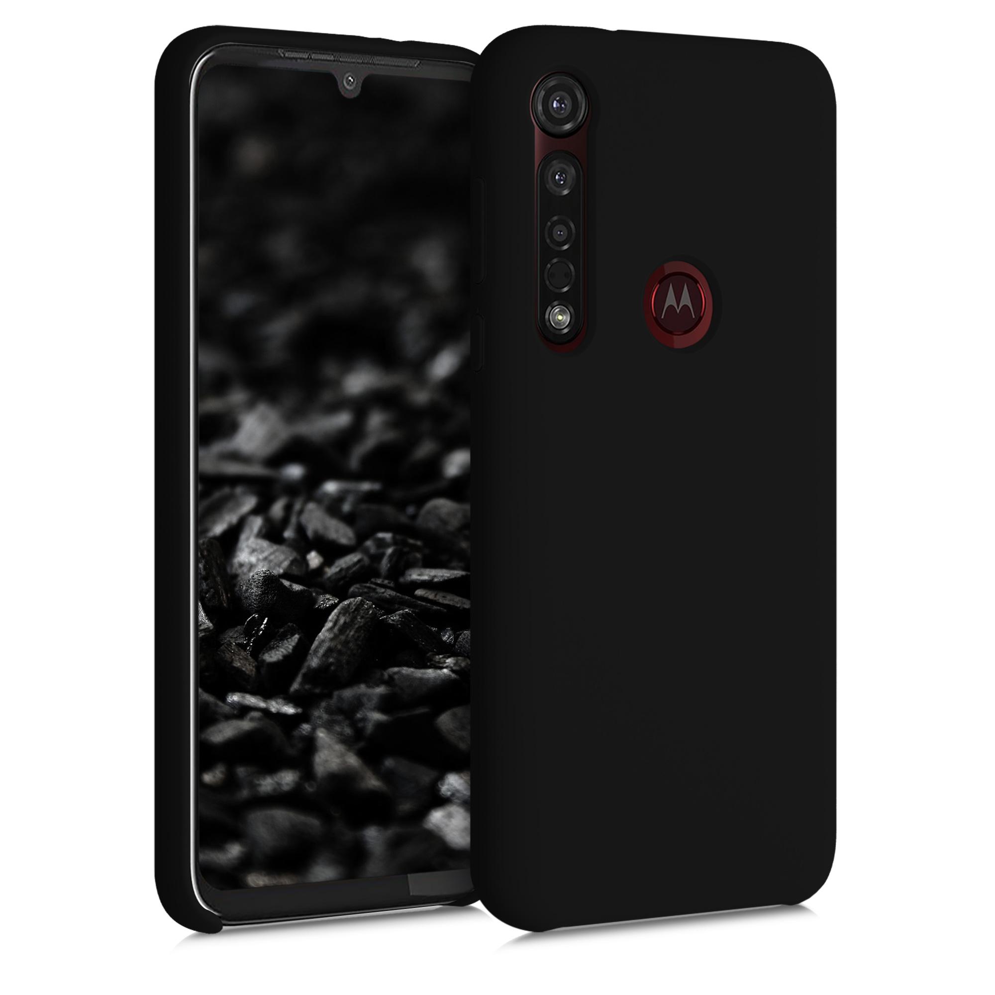 Kvalitní silikonové TPU pouzdro | obal pro Motorola Moto G8 Plus - Černá