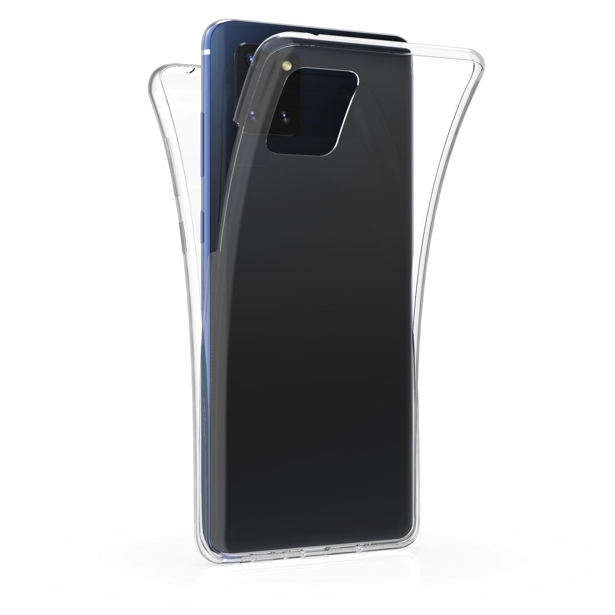 Kvalitní silikonové TPU pouzdro pro Samsung Note 10 Lite - průhledné