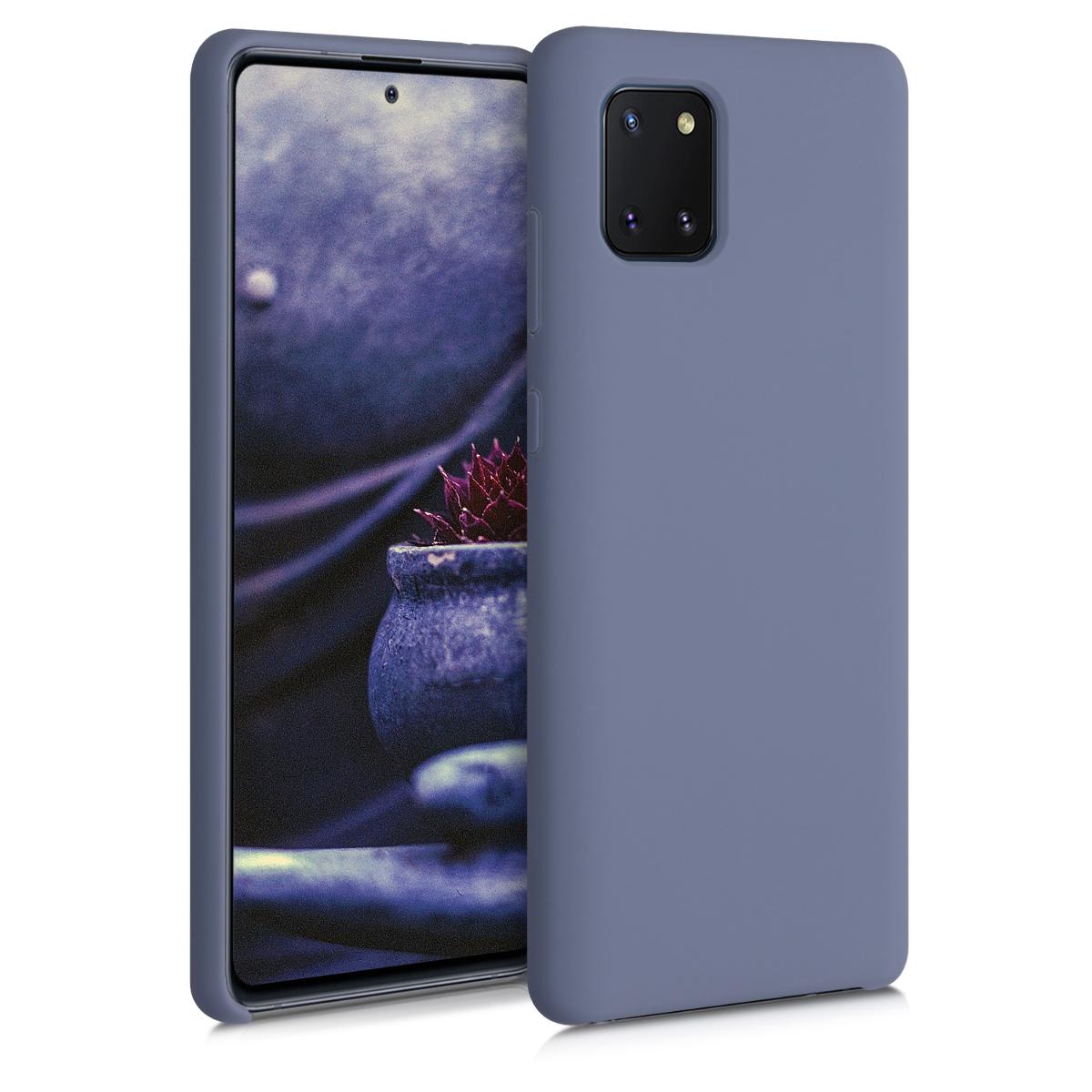 Kvalitní silikonové TPU pouzdro pro Samsung Note 10 Lite - Šeřík