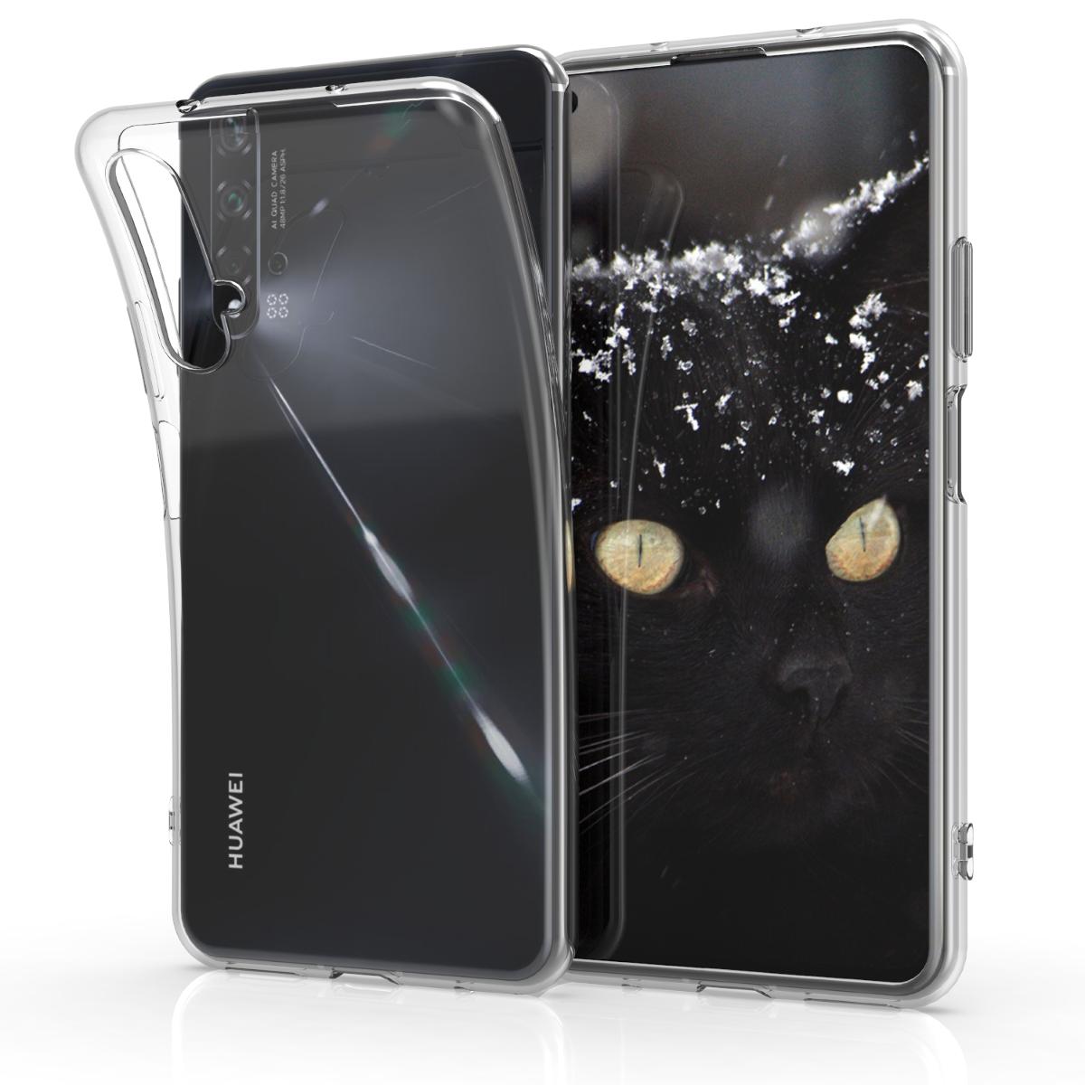Průhledné silikonové pouzdro / obal pro Huawei Nova 5T