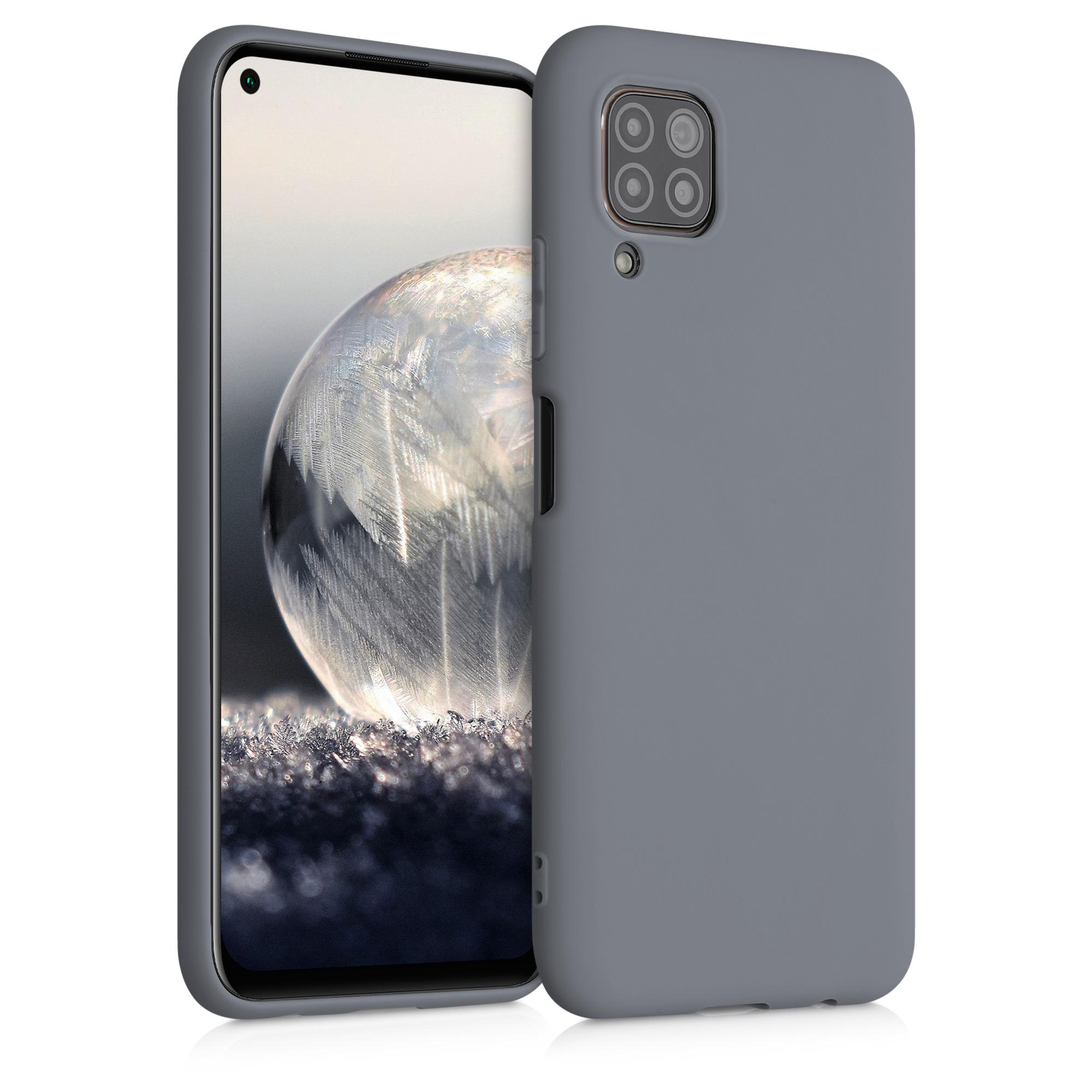 Titanově šedé silikonové pouzdro / obal pro Huawei P40 Lite
