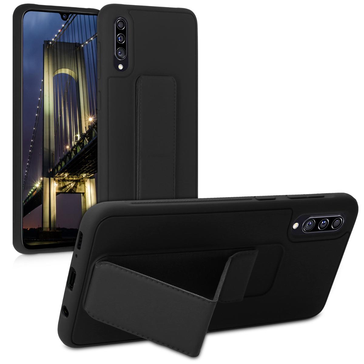 Kvalitní plastové pouzdro pro Samsung A70 - černé