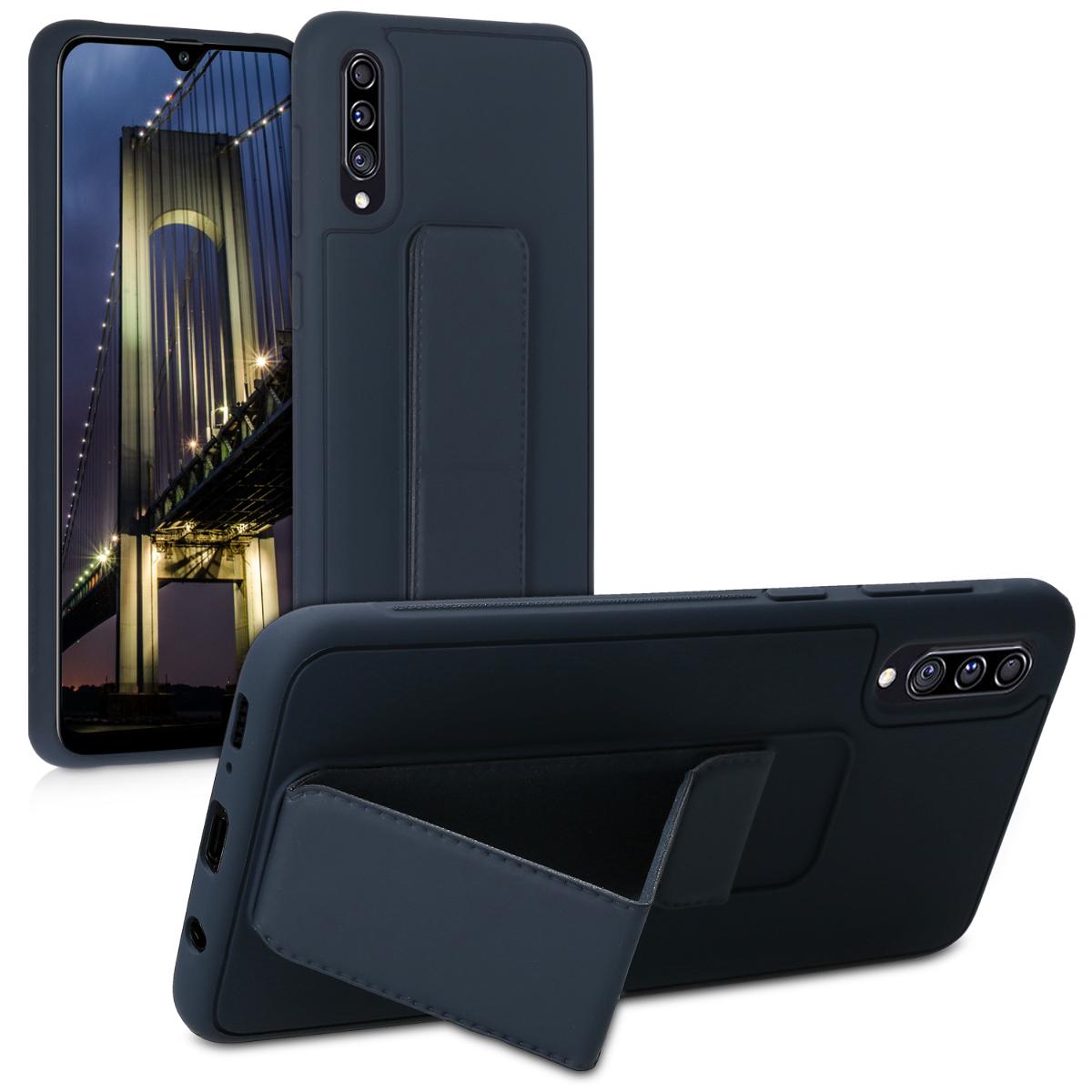 Kvalitní plastové pouzdro pro Samsung A30s - tmavě modré