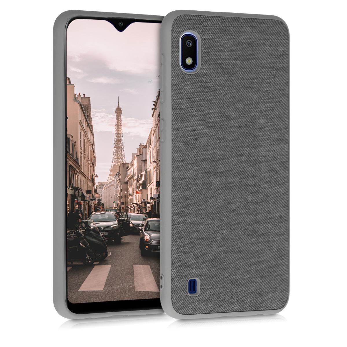 Fabricpouzdro pro Samsung A10 - šedé