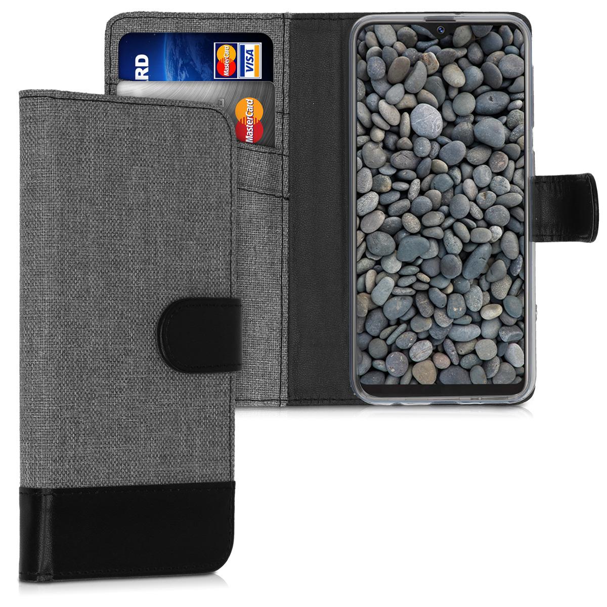 Fabricpouzdro pro Samsung A10e - šedé / černé