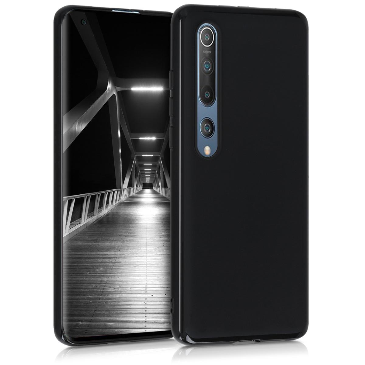 Černé matné silikonové pouzdro / obal pro Xiaomi Mi 10 / Mi 10 Pro