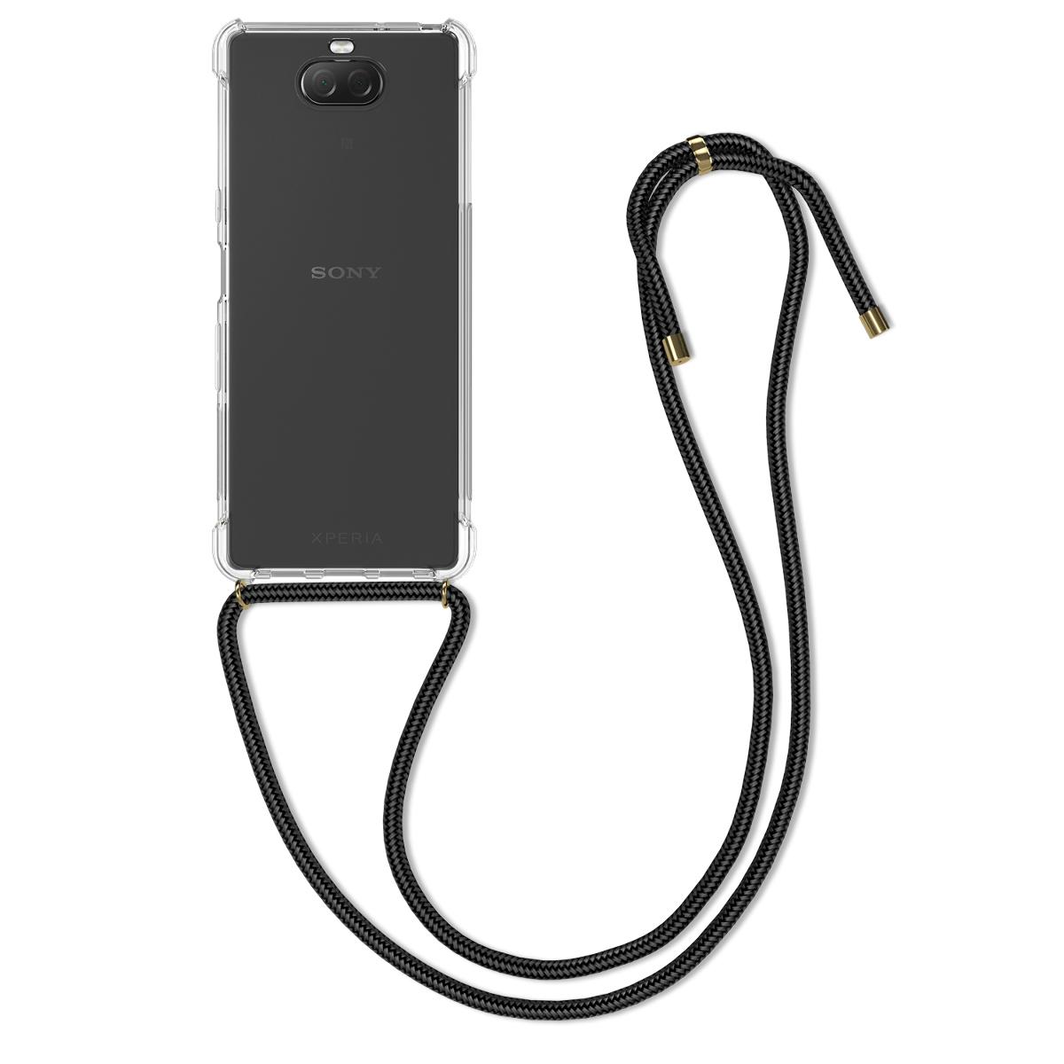 Kvalitní silikonové TPU pouzdro | obal pro Sony Xperia 10 - průhledný