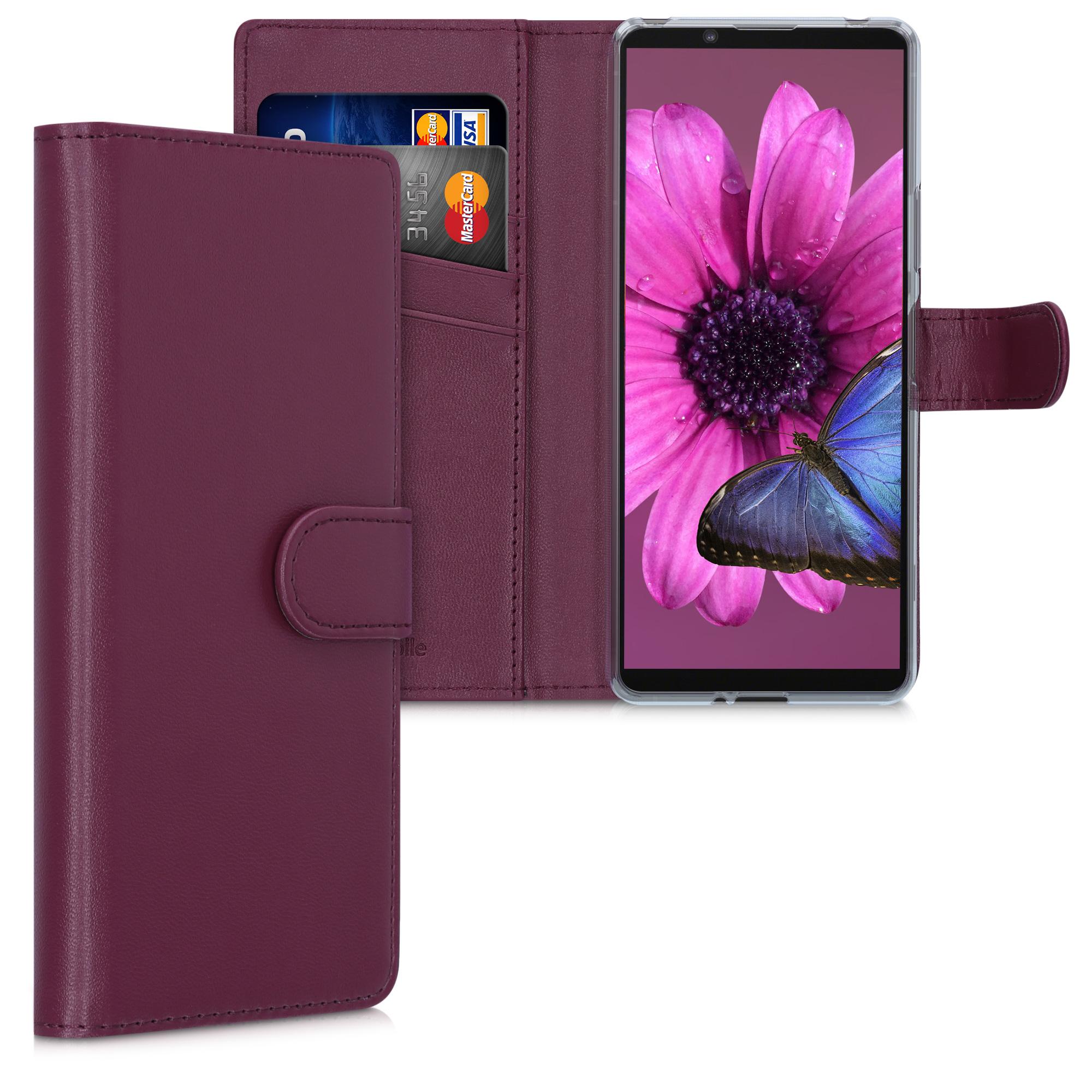 Kožené pouzdro | obal pro Sony Xperia 10 II - červené
