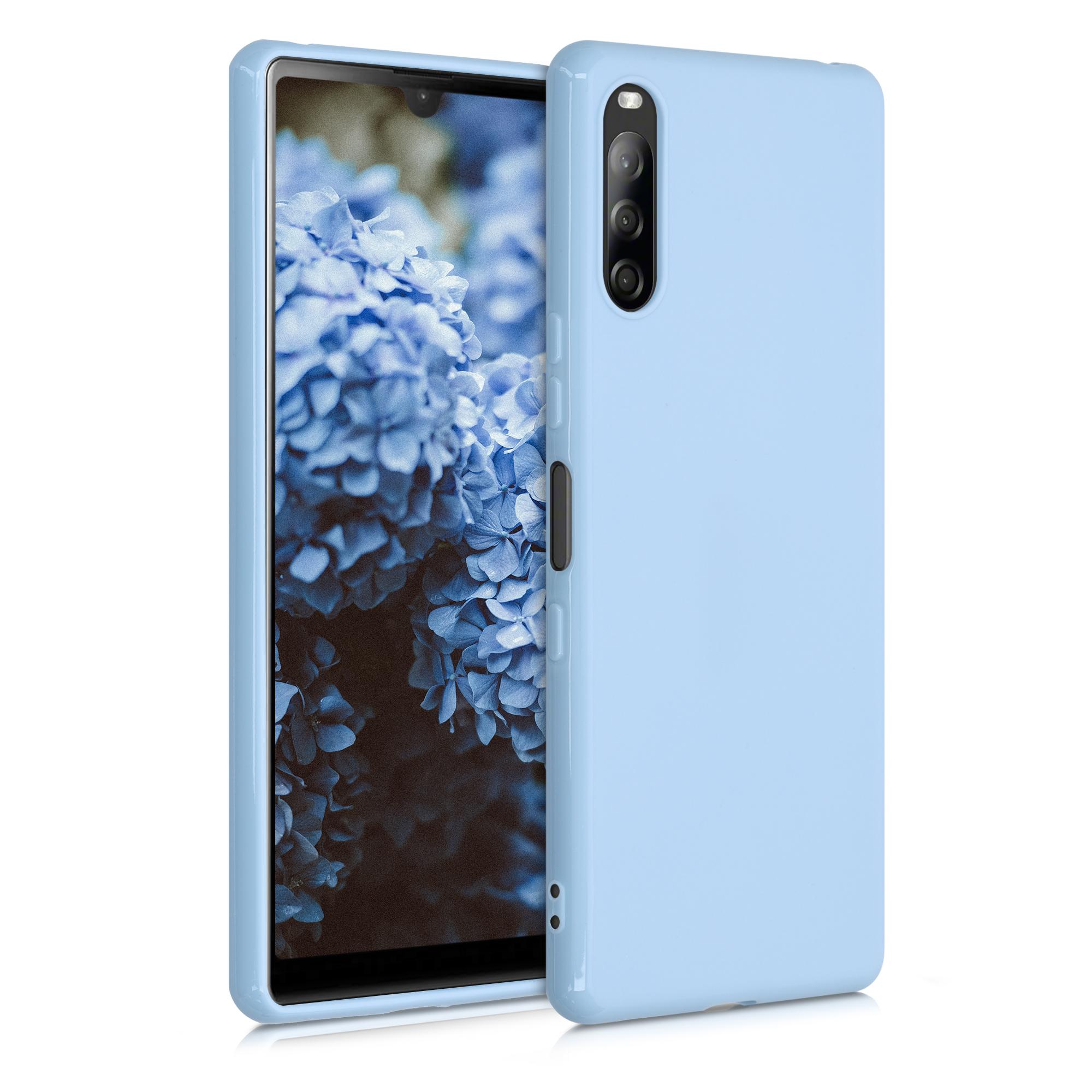 Kvalitní silikonové TPU pouzdro | obal pro Sony Xperia L4 - Light modré matné