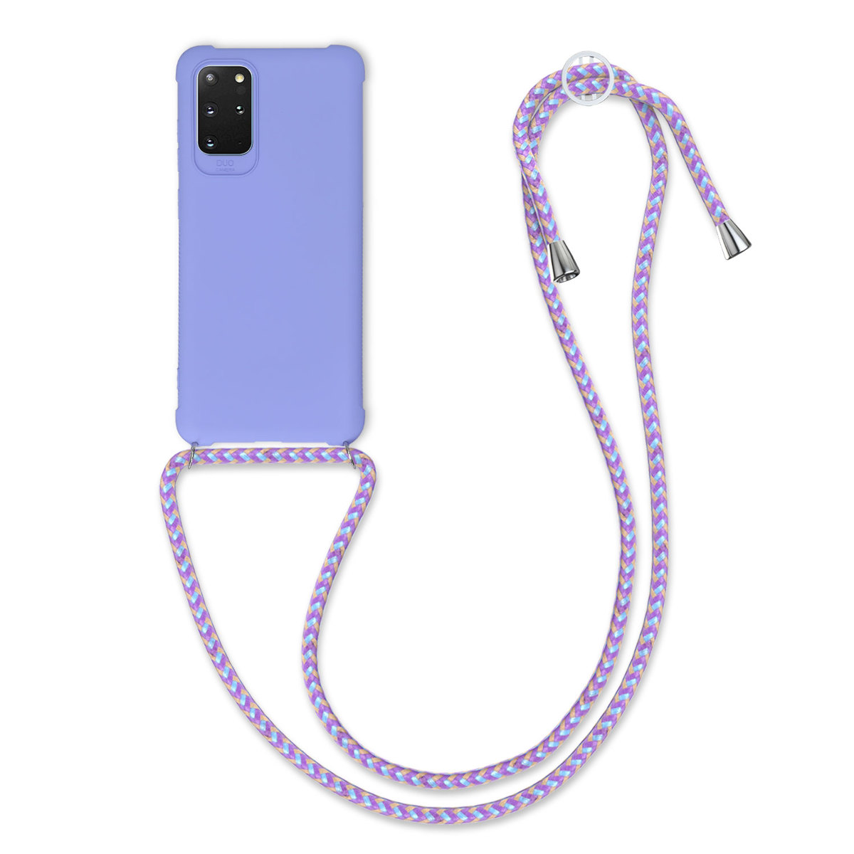 Fialové levandulové silikonové pouzdro / obal pro Samsung S20 Plus