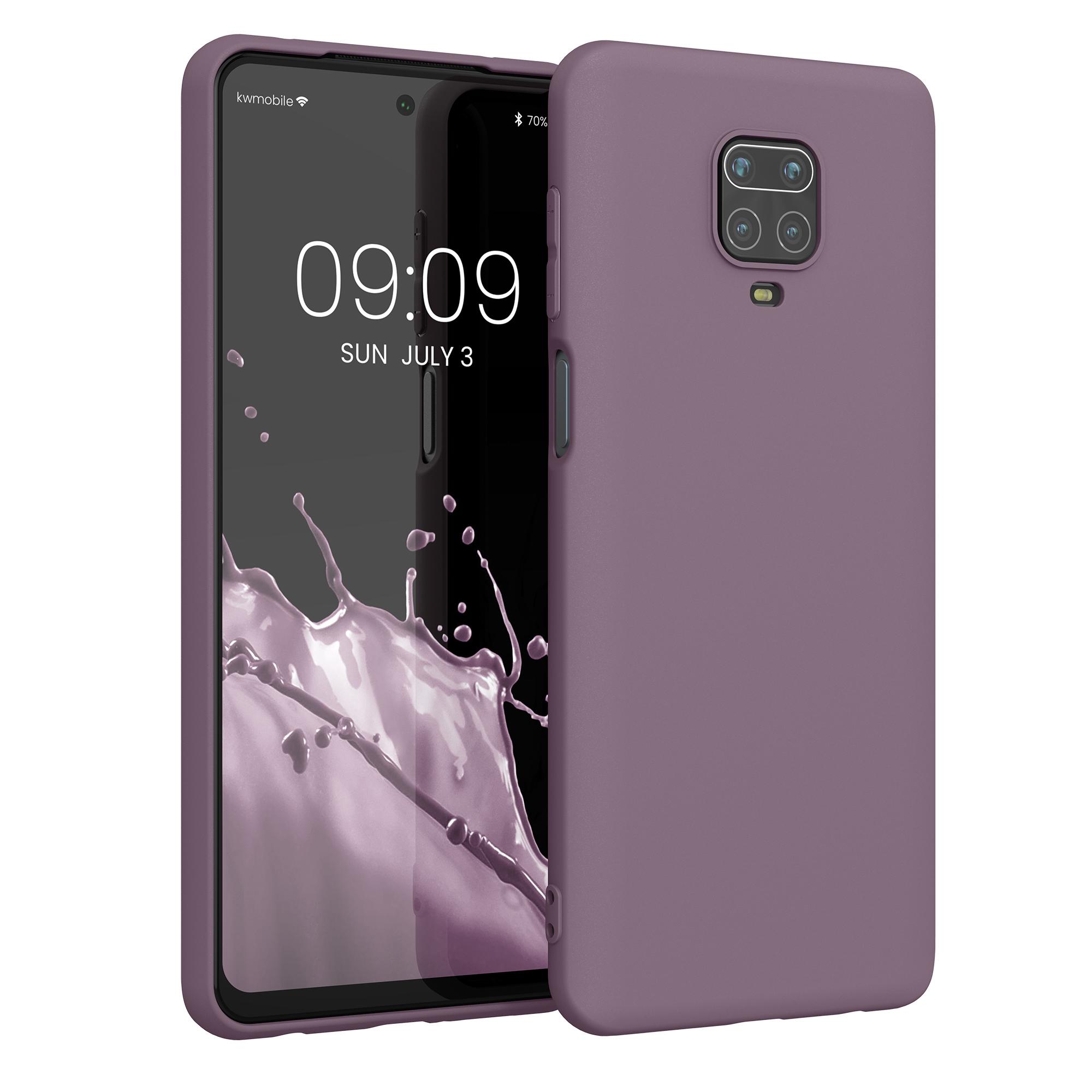 Kvalitní silikonové TPU pouzdro | obal pro Xiaomi Redmi Note 9S | 9 Pro | 9 - Grape fialové
