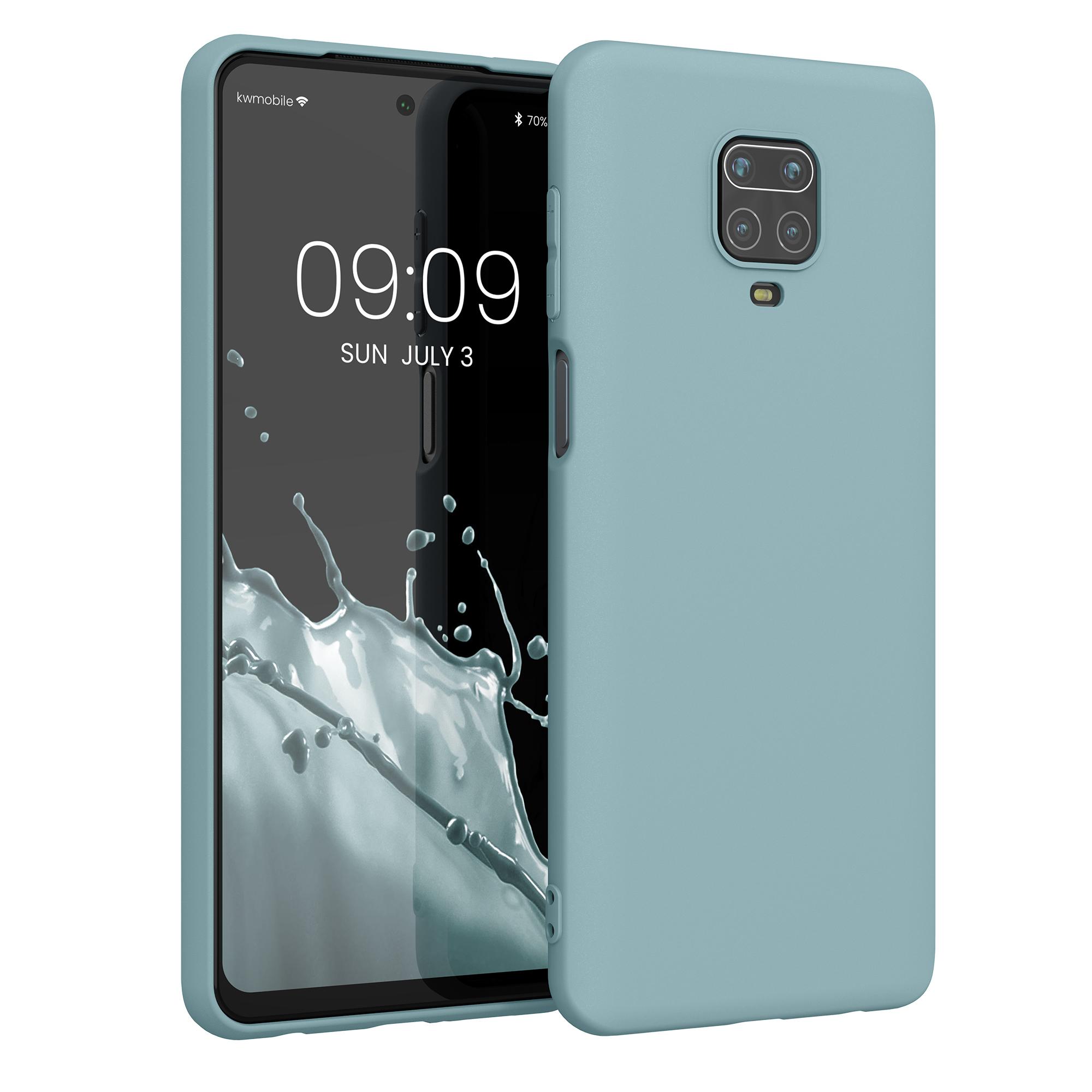Kvalitní silikonové TPU pouzdro | obal pro Xiaomi Redmi Note 9S | 9 Pro | 9 - Arctic modrý