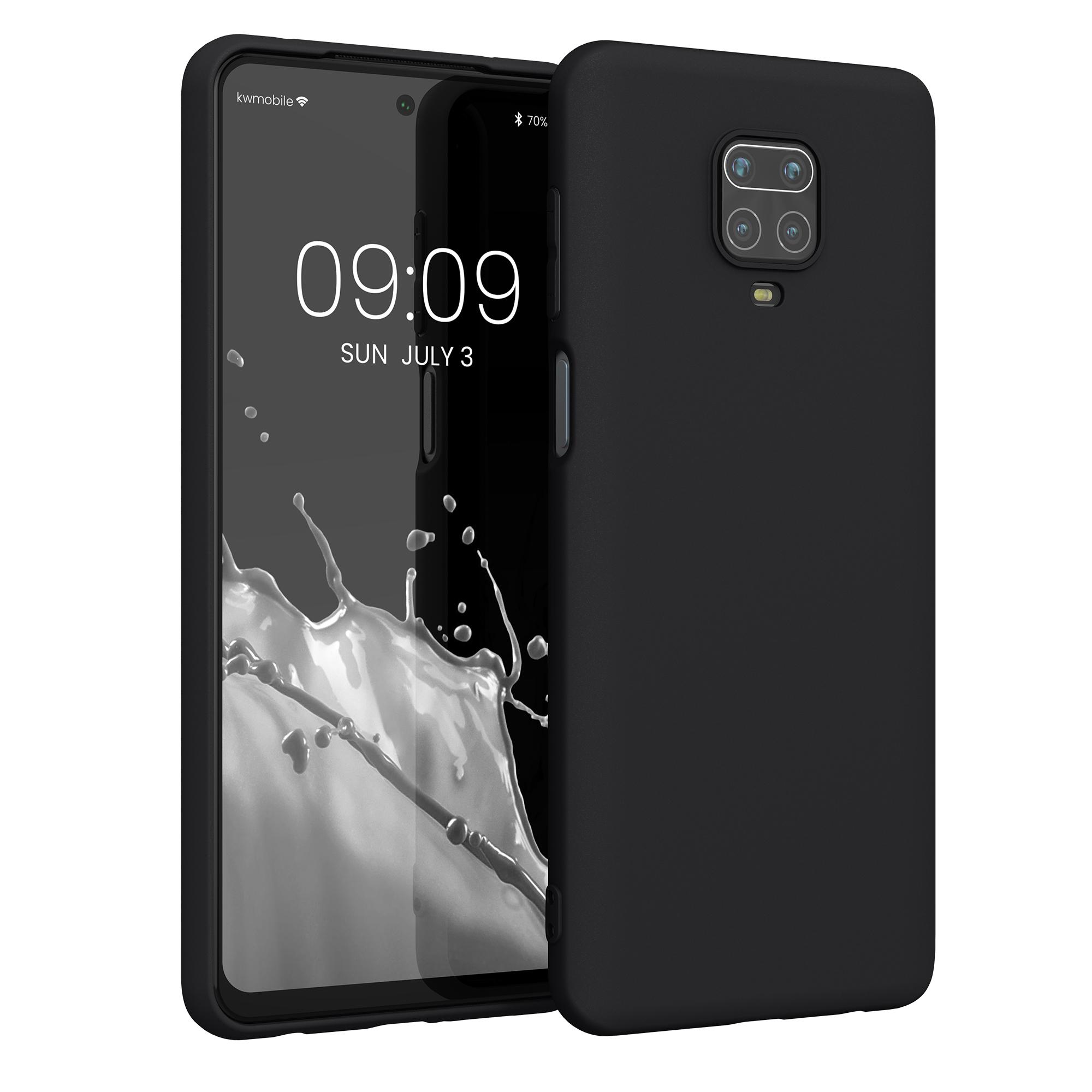 Kvalitní silikonové TPU pouzdro | obal pro Xiaomi Redmi Note 9S | 9 Pro | 9 - černý matný