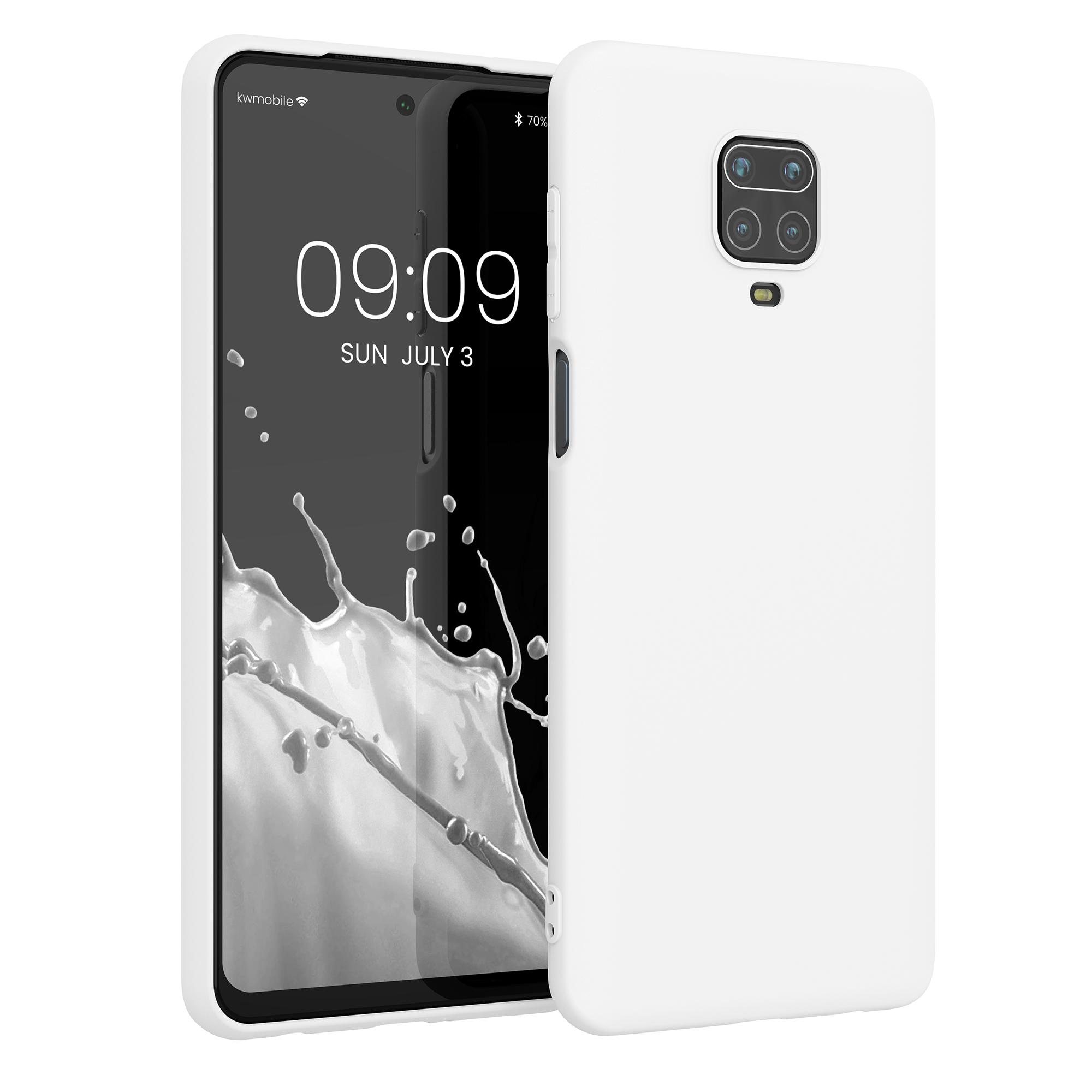 Kvalitní silikonové TPU pouzdro | obal pro Xiaomi Redmi Note 9S | 9 Pro | 9 - bílý matný