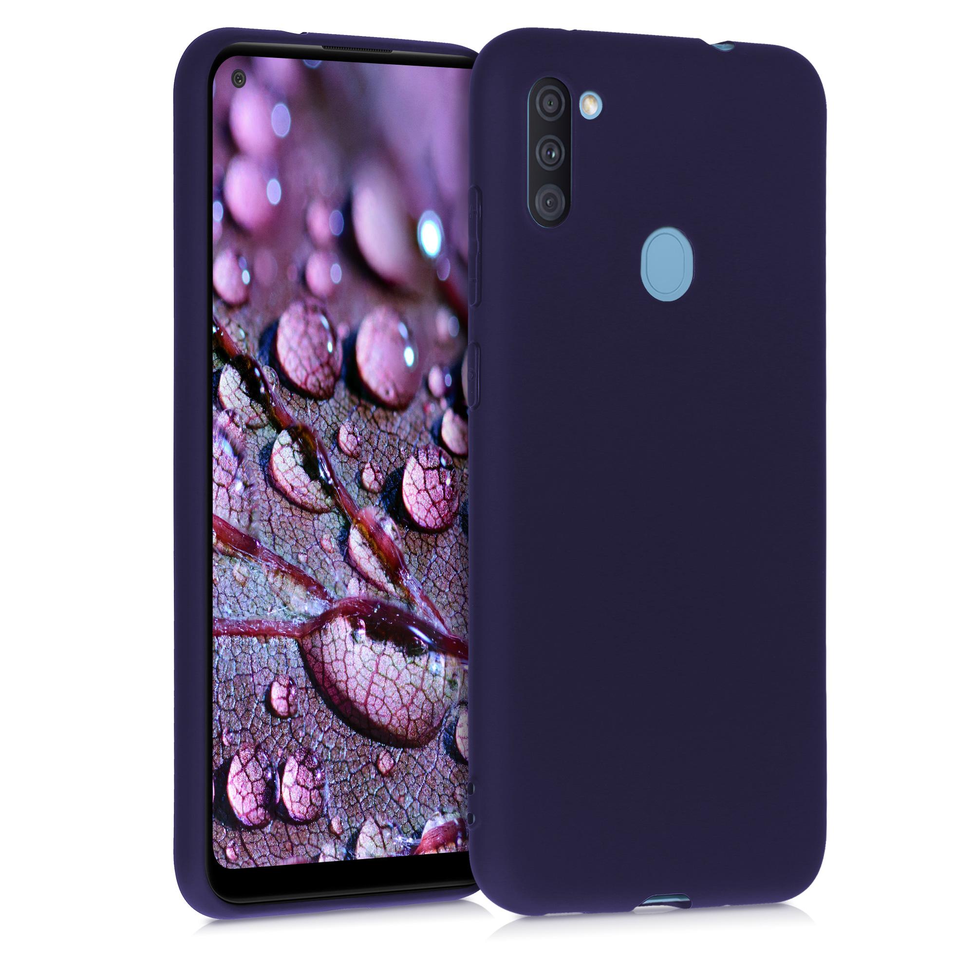 Kvalitní silikonové TPU pouzdro pro Samsung A11 - Hluboké modré moře