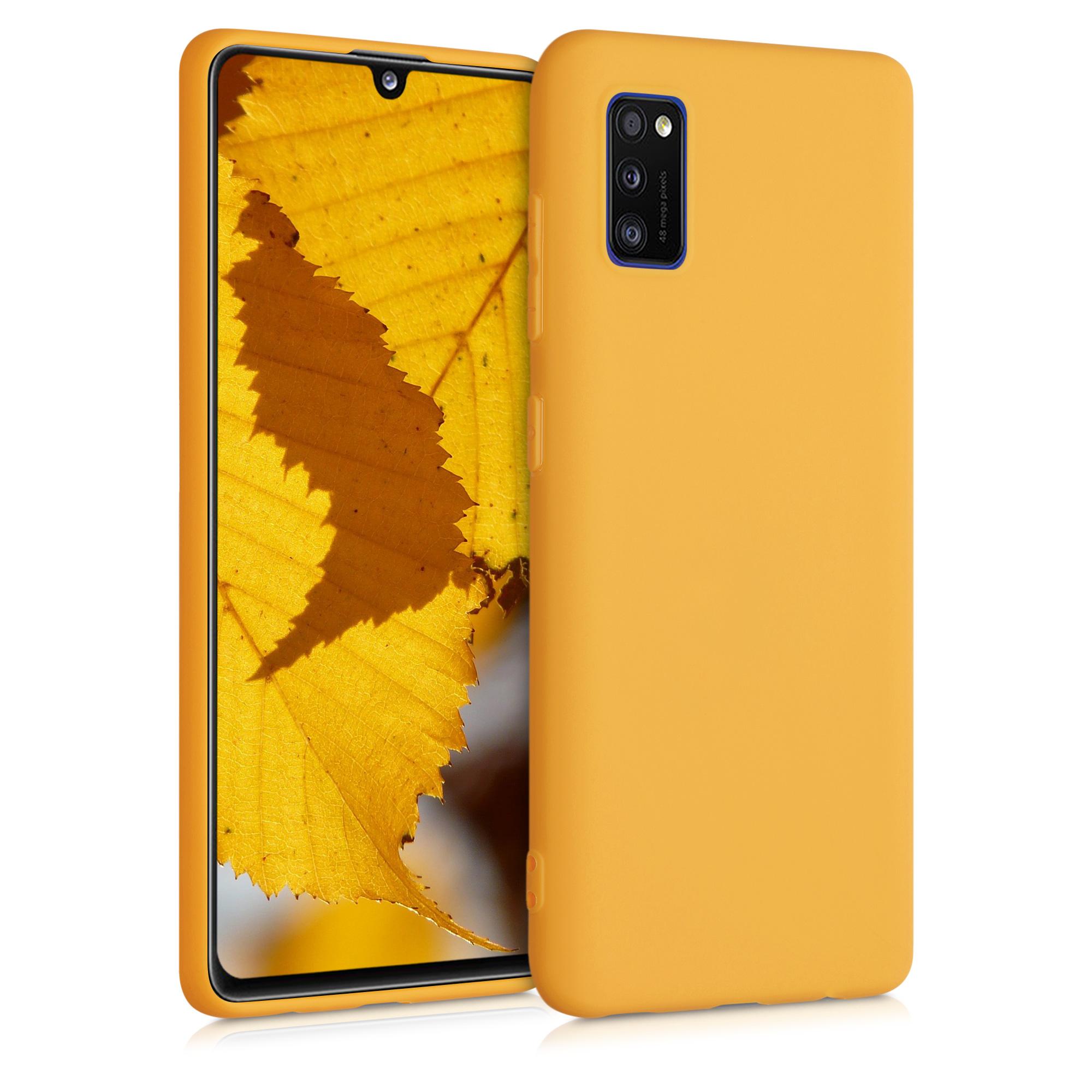 Kvalitní silikonové TPU pouzdro pro Samsung A41 - Iced Mango