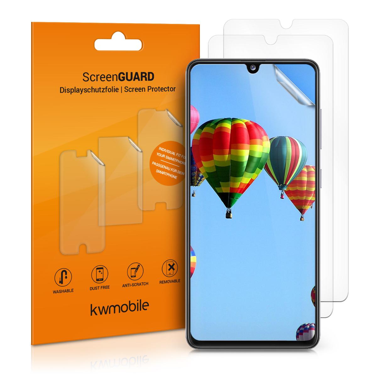 3x folie na display / screenprotector pro  Samsung Galaxy A41