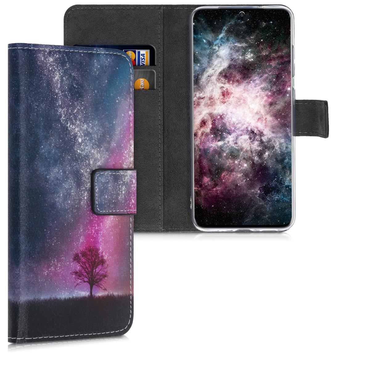 Peněženka pouzdro / obal pro Samsung S20 s motivem vesmíru a přírody