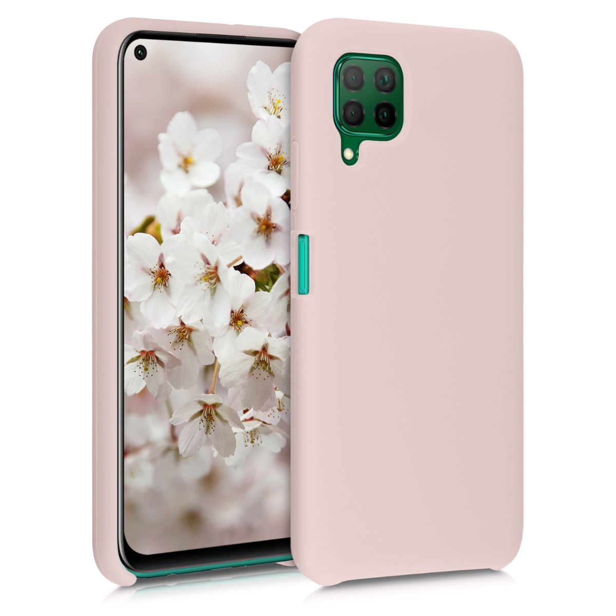 Růžové silikonové pouzdro / obal pro Huawei P40 Lite