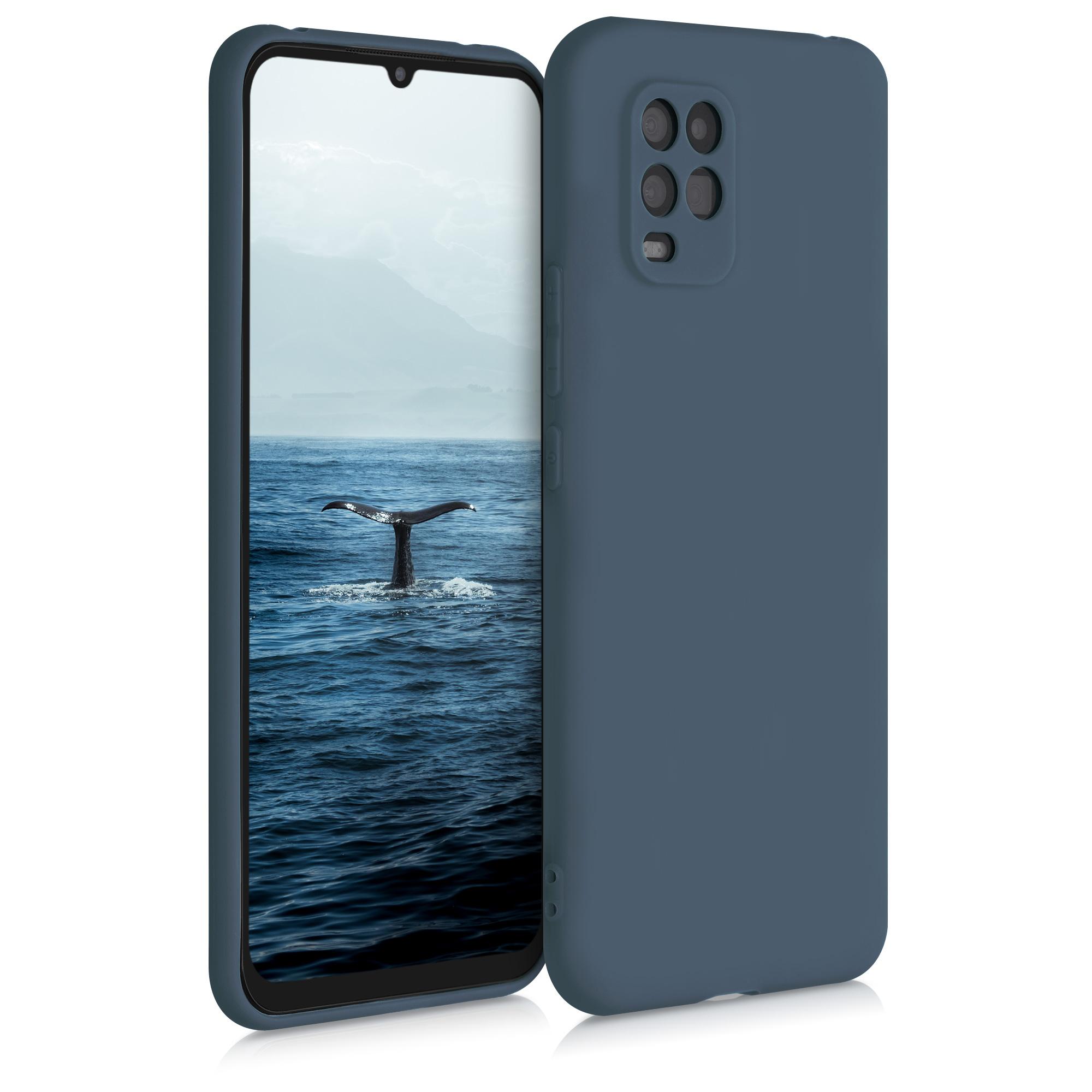 Břidlicově šedé silikonové pouzdro / obal pro Xiaomi Mi 10 Lite