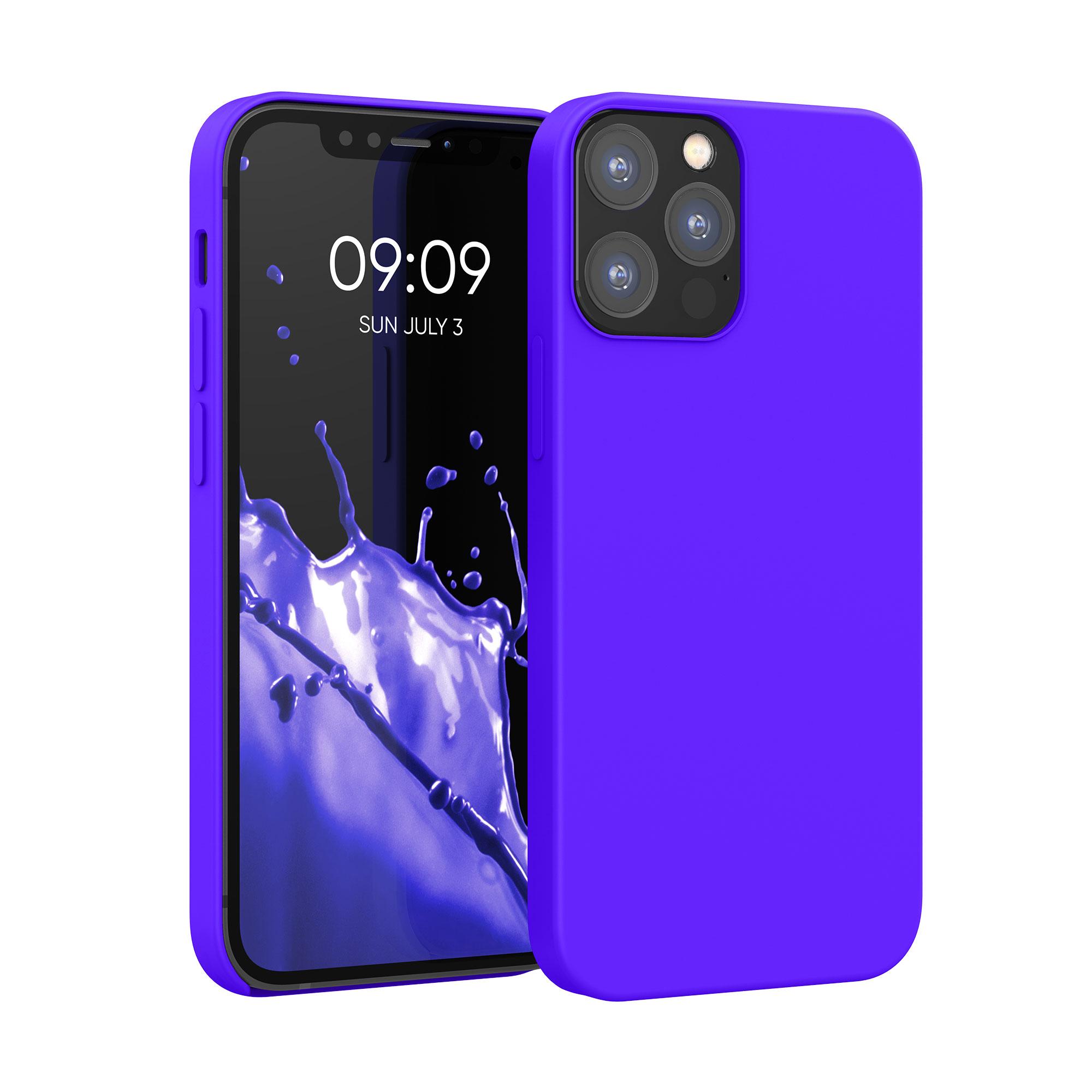 Kvalitní silikonové TPU pouzdro pro Apple iPhone 12 / 12 Pro - Královská modrá