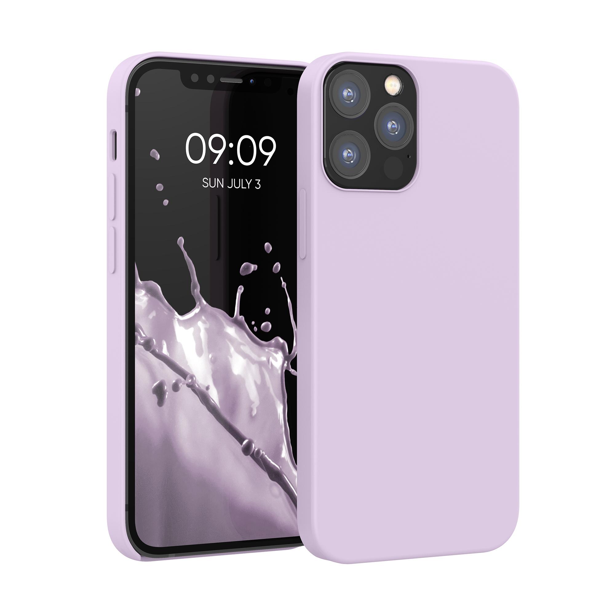 Kvalitní silikonové TPU pouzdro pro Apple iPhone 12 / 12 Pro - Nafialovělý