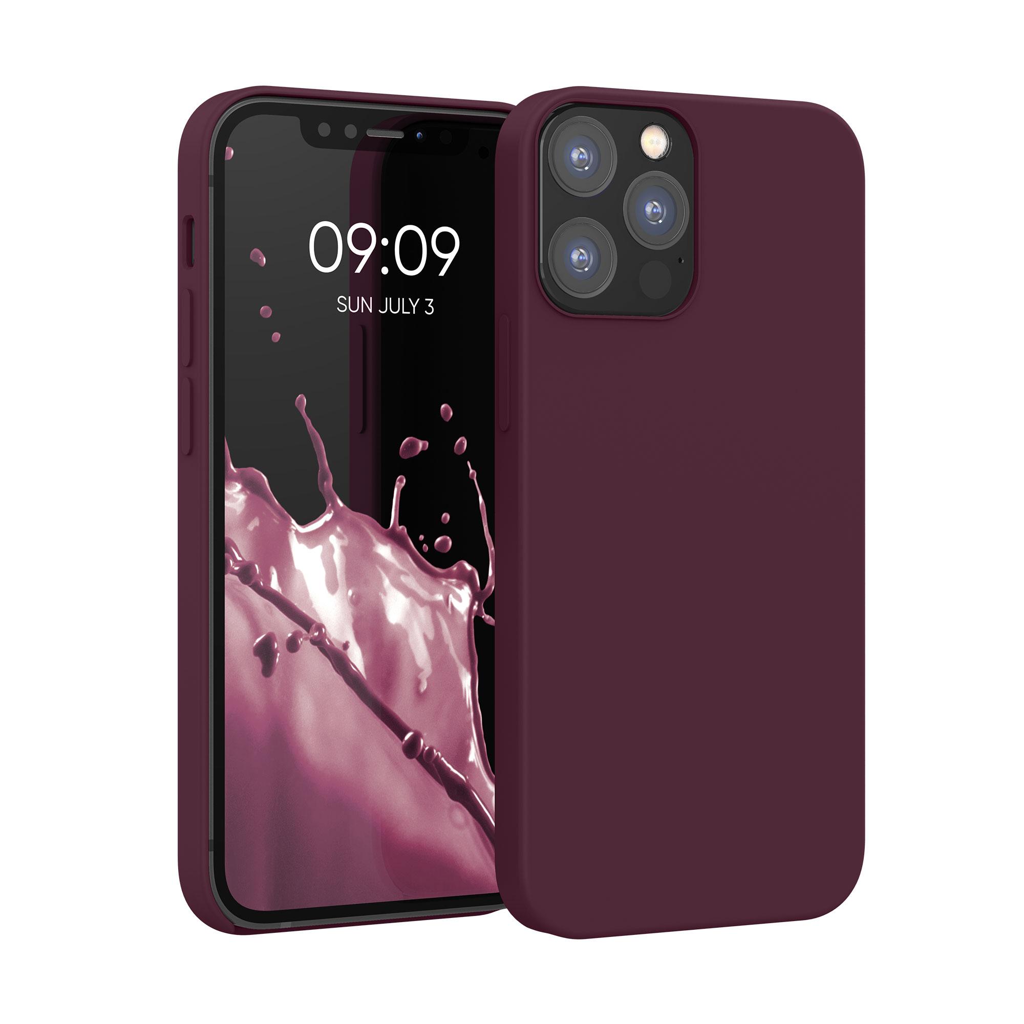 Kvalitní silikonové TPU pouzdro pro Apple iPhone 12 / 12 Pro - Tawny Red