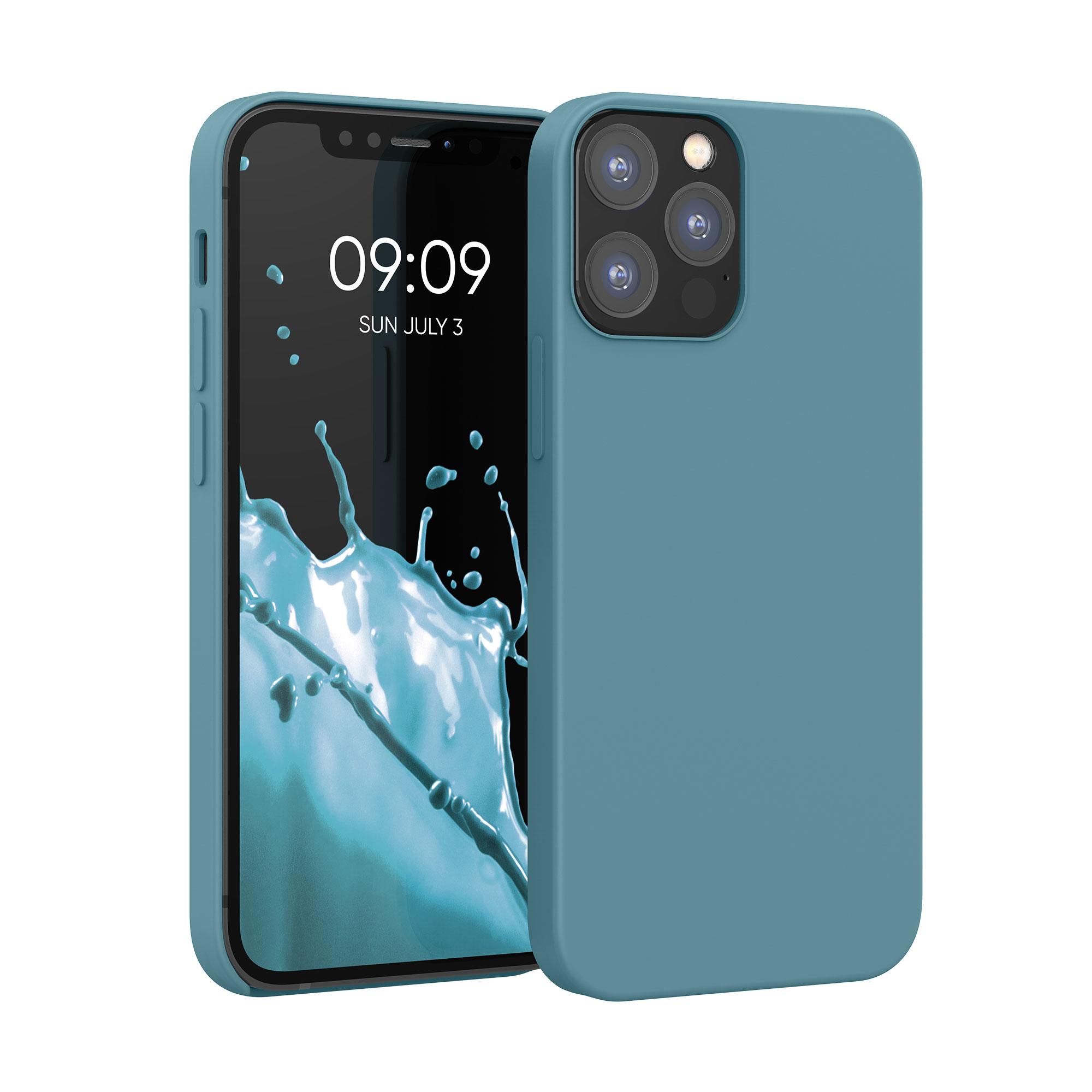 Kvalitní silikonové TPU pouzdro pro Apple iPhone 12 / 12 Pro - Arctic Modrá
