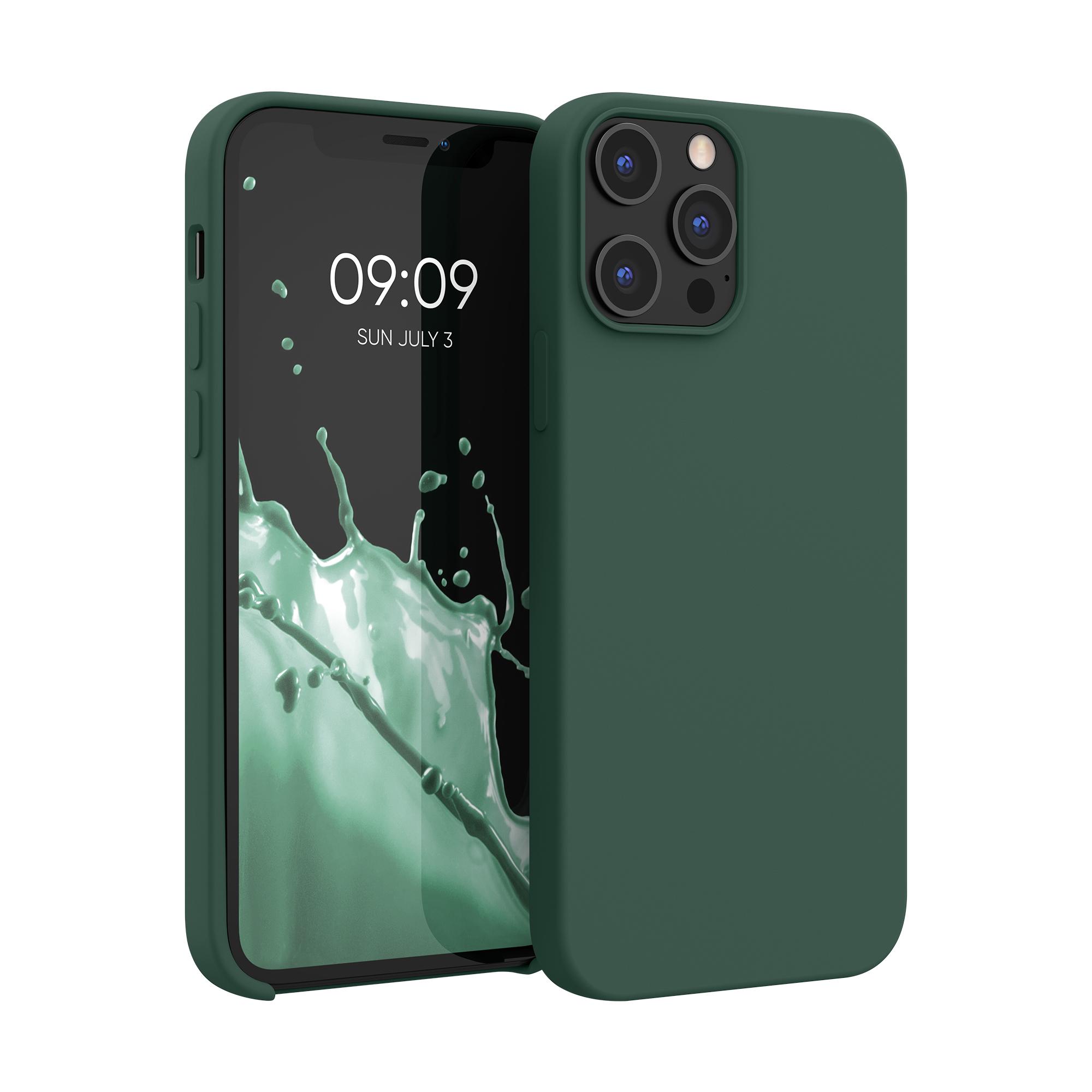 Kvalitní silikonové TPU pouzdro pro Apple iPhone 12 Pro Max - Moss Green