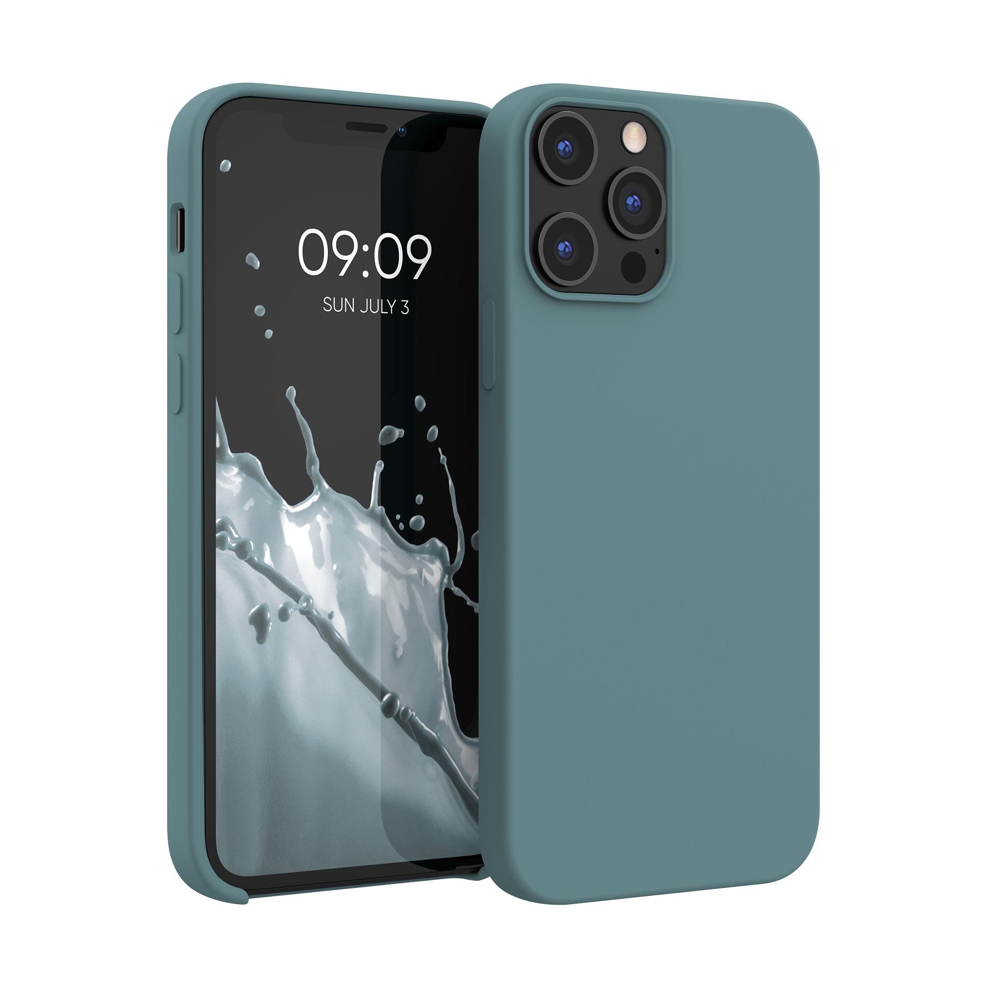 Kvalitní silikonové TPU pouzdro pro Apple iPhone 12 Pro Max - Arctic Modrá