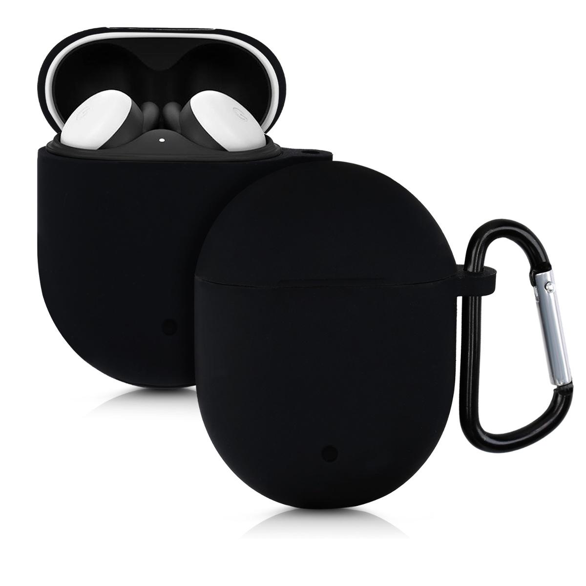 Kvalitní silikonové TPU  pouzdro | obal pro Google Pixel Buds 2 (2020) -  Černá