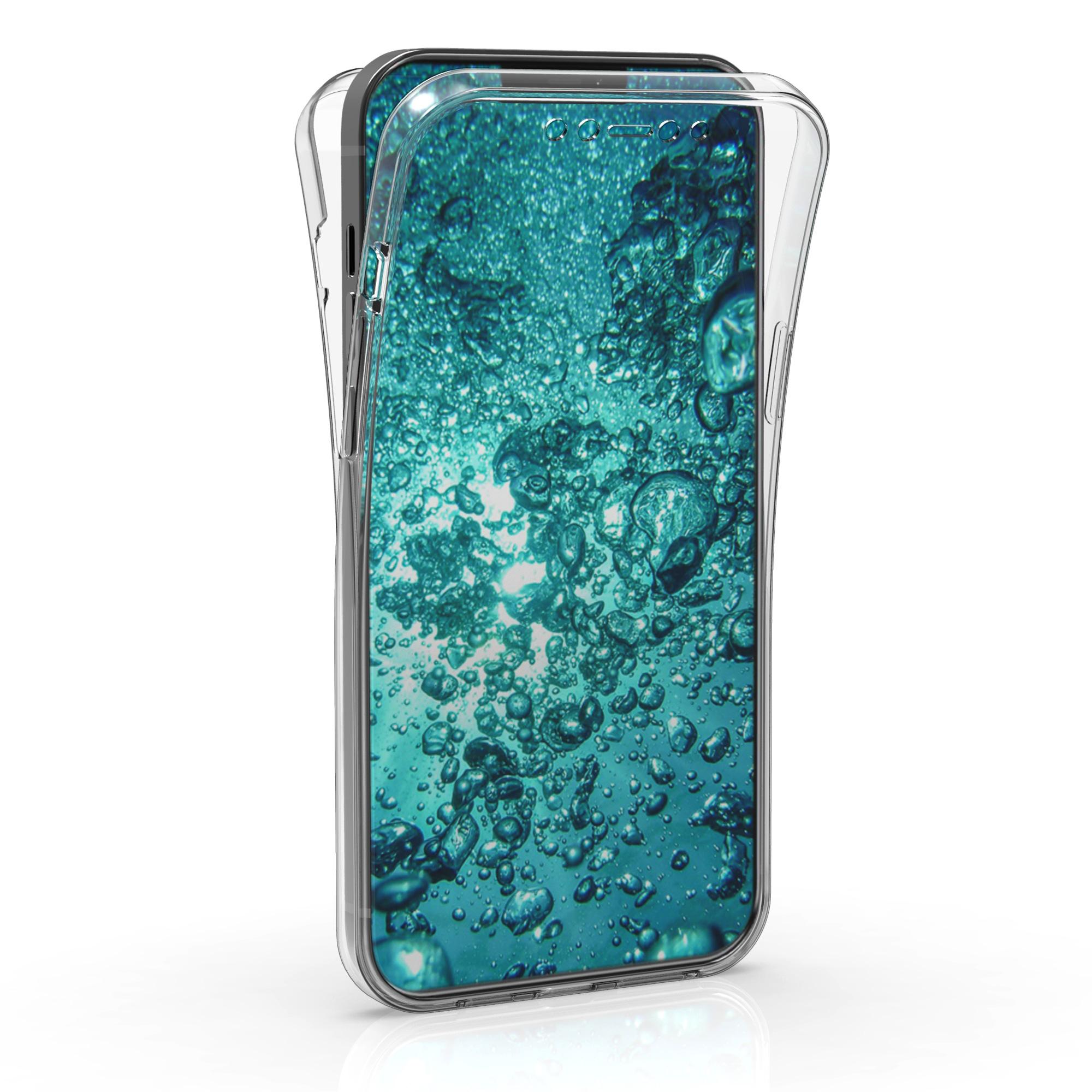 Kvalitní silikonové TPU pouzdro pro Apple iPhone 12 Pro Max - Průhledný