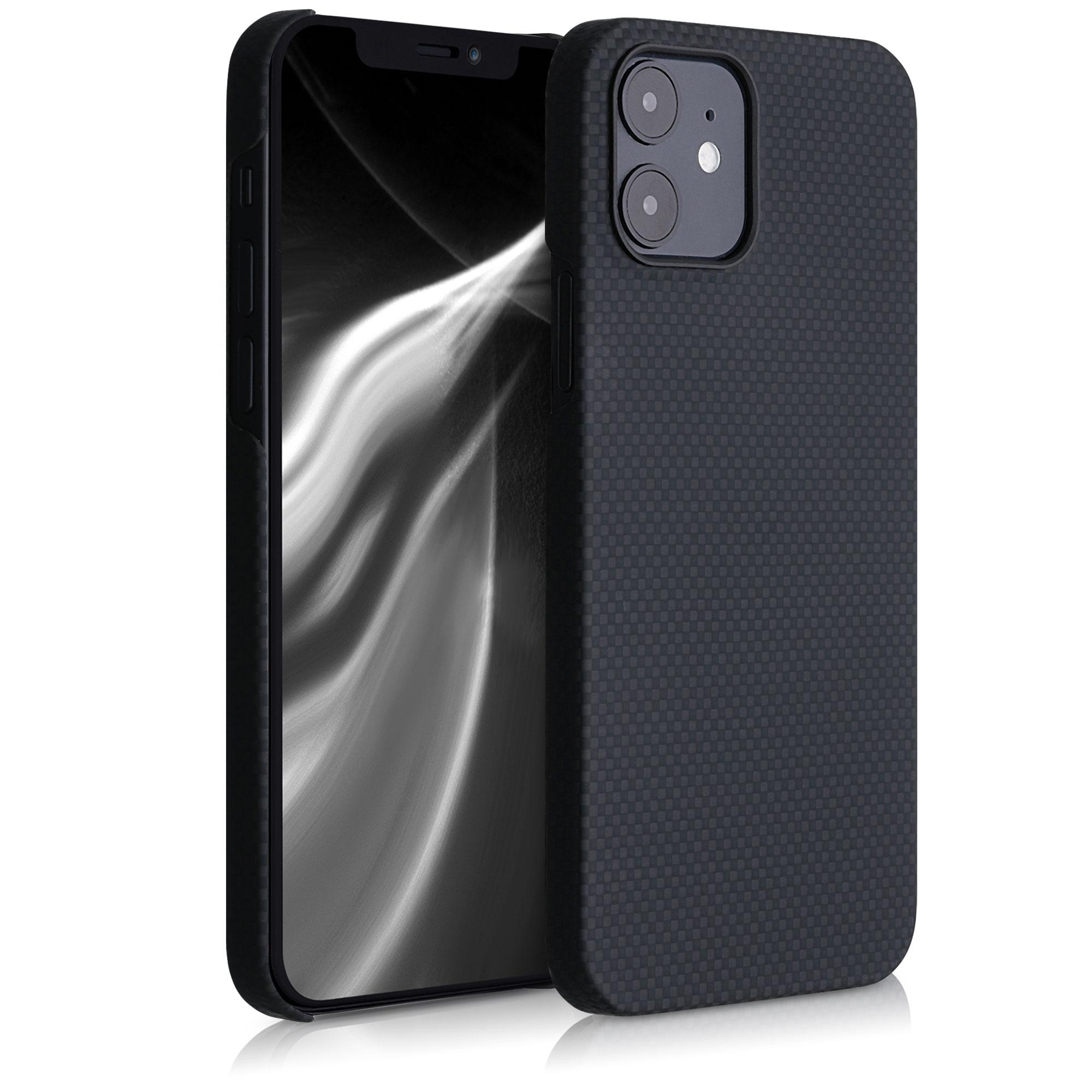 Aramidpouzdro pro Apple iPhone 12 - Černá