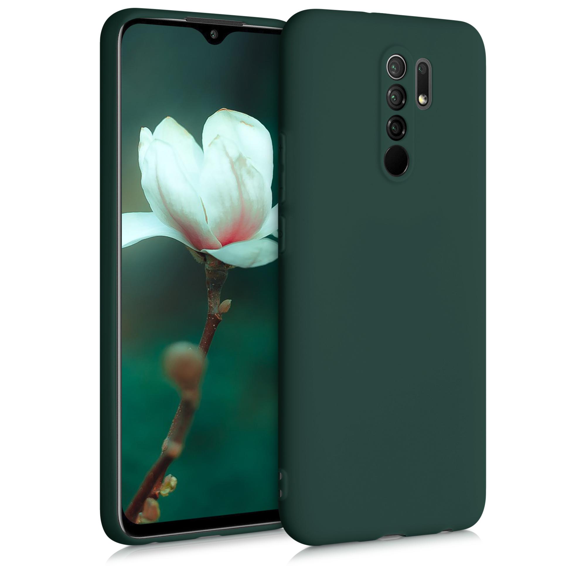 Kvalitní silikonové TPU pouzdro | obal pro Xiaomi Redmi 9 - Moss zelený