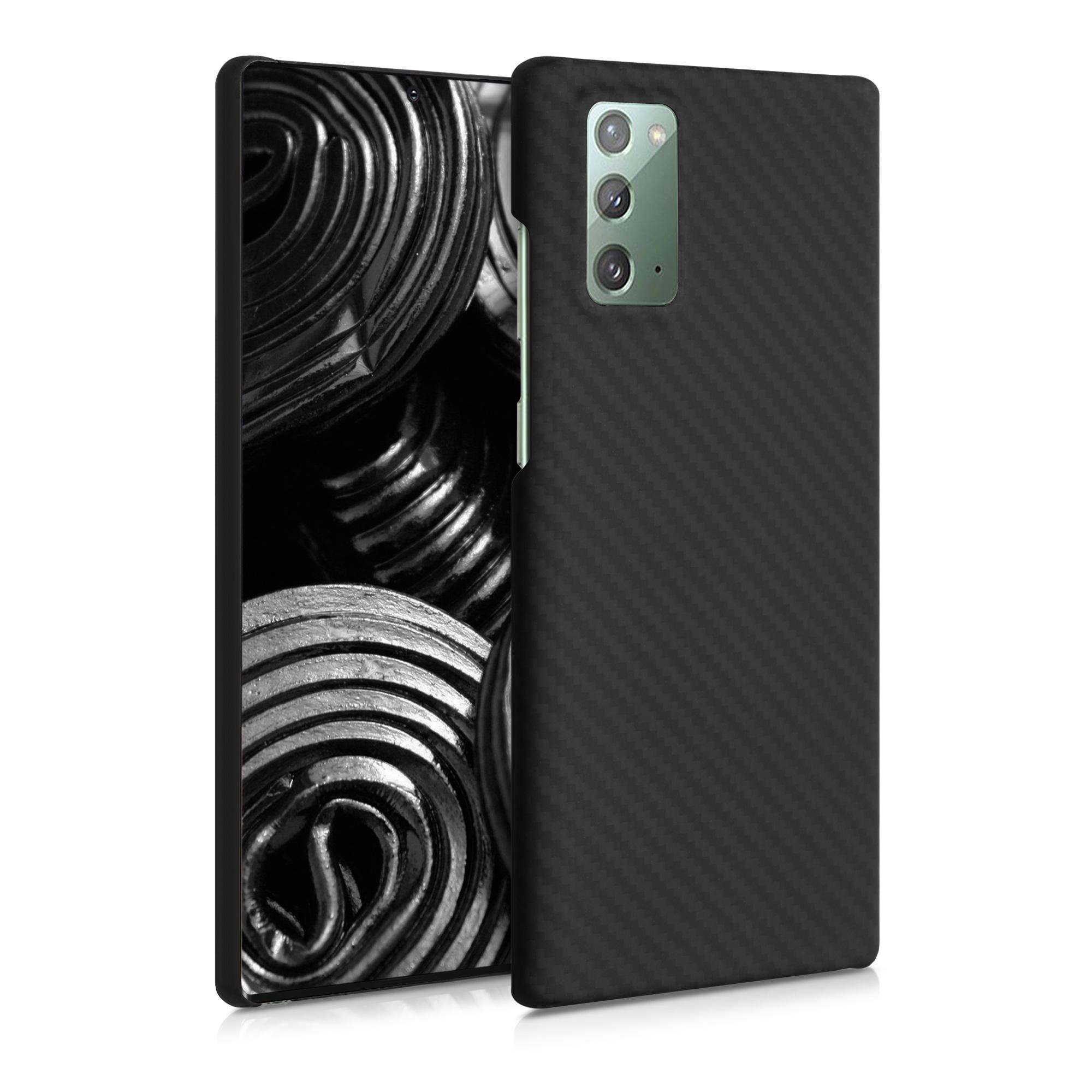 Aramidpouzdro pro Samsung Note 20 - černé matné