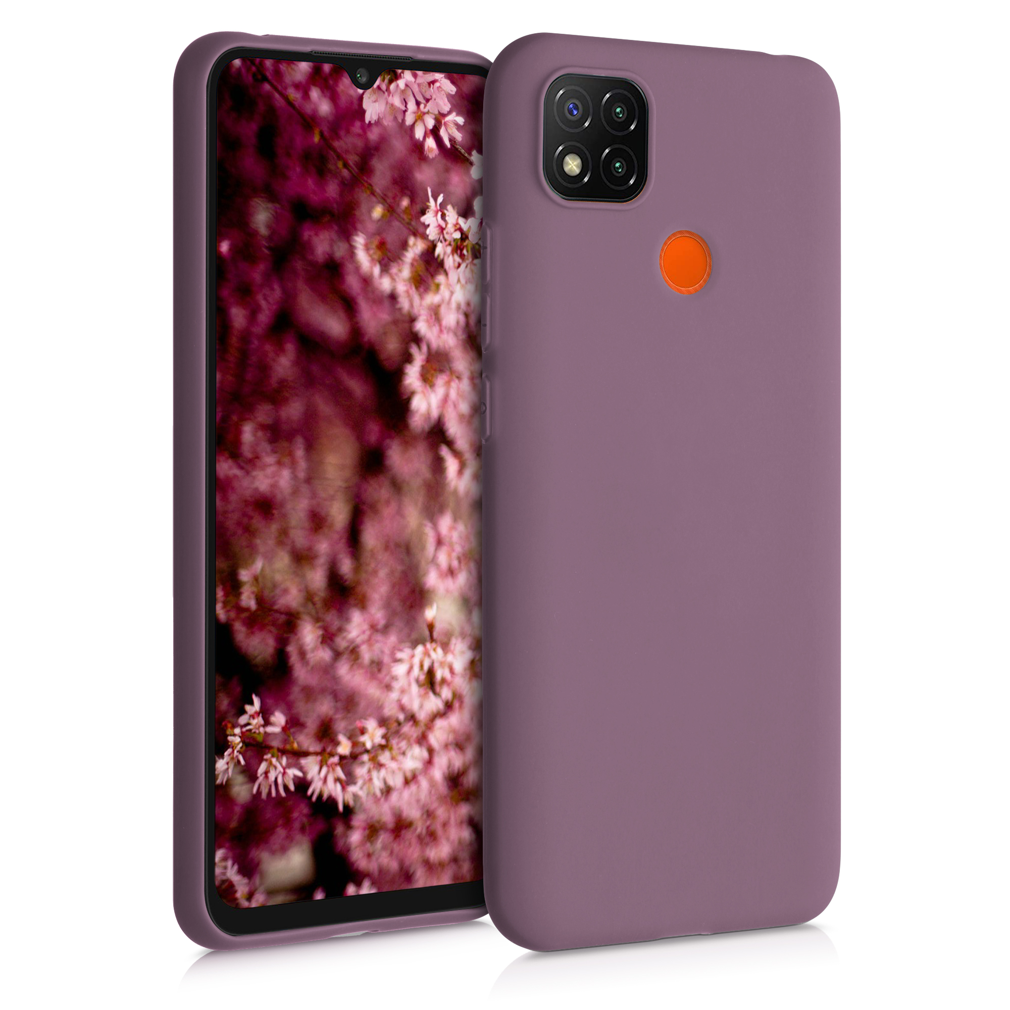 Kvalitní silikonové TPU pouzdro | obal pro Xiaomi Redmi 9C - Grape fialové