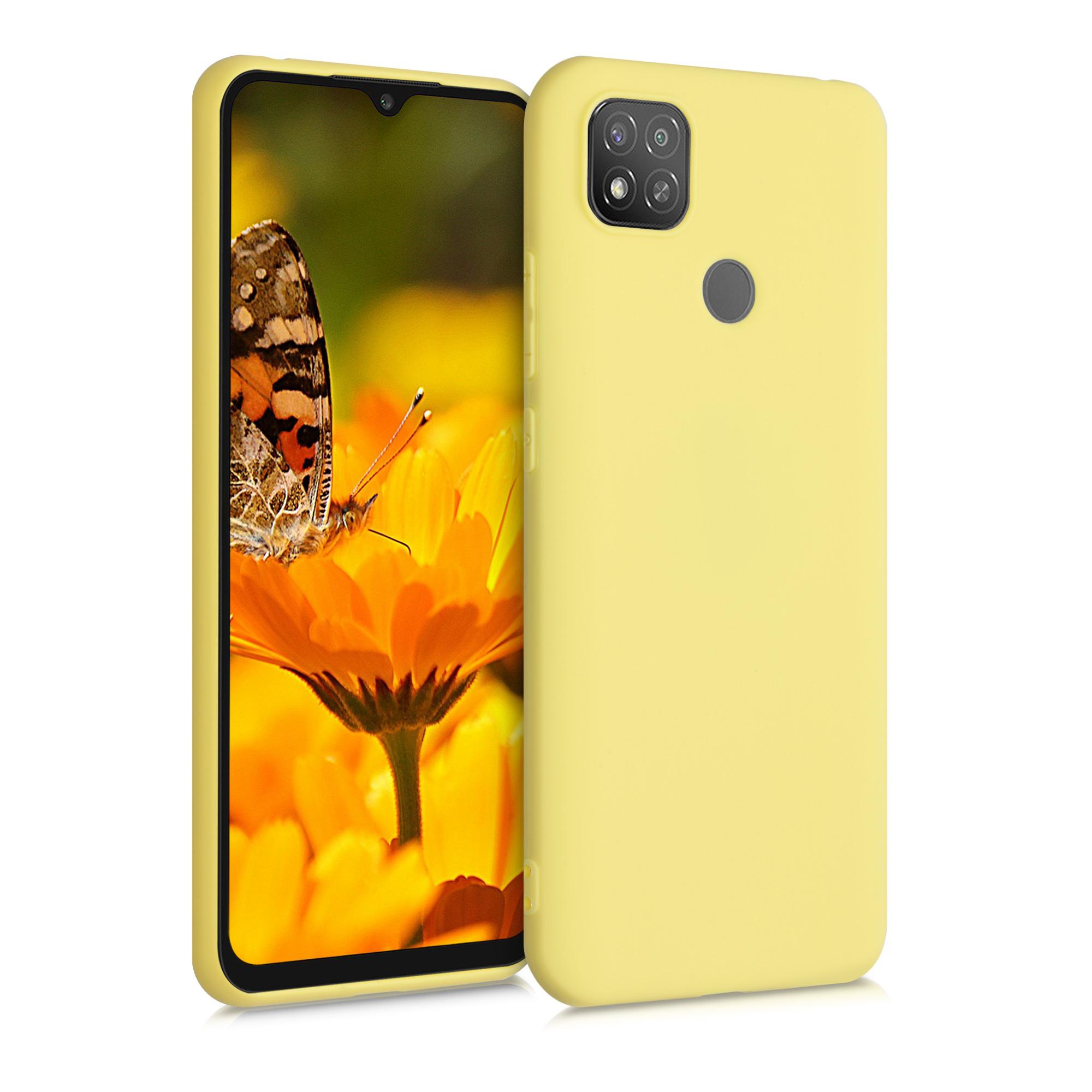 Kvalitní silikonové TPU pouzdro | obal pro Xiaomi Redmi 9C - žluté matný