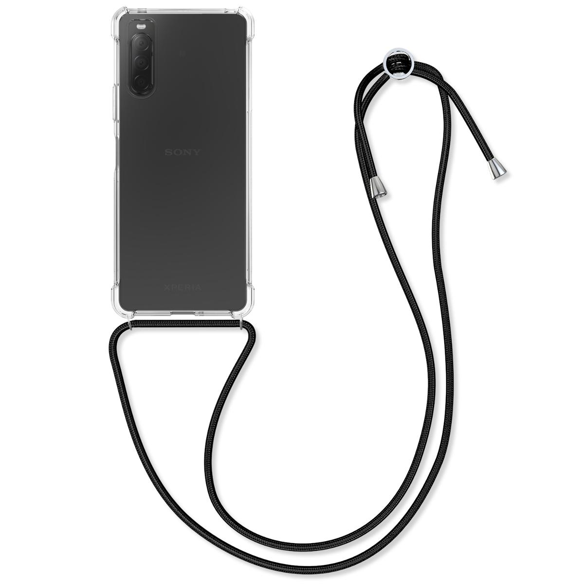Kvalitní silikonové TPU pouzdro | obal pro Sony Xperia 10 II - průhledný