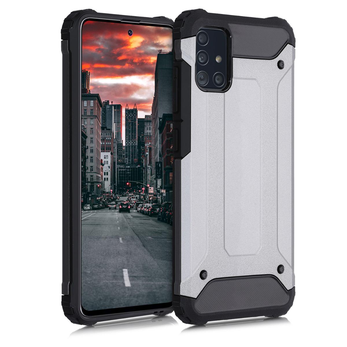 Vysoce odolné nárazuvzdorné hybridní pouzdro / obal pro Samsung Galaxy A51