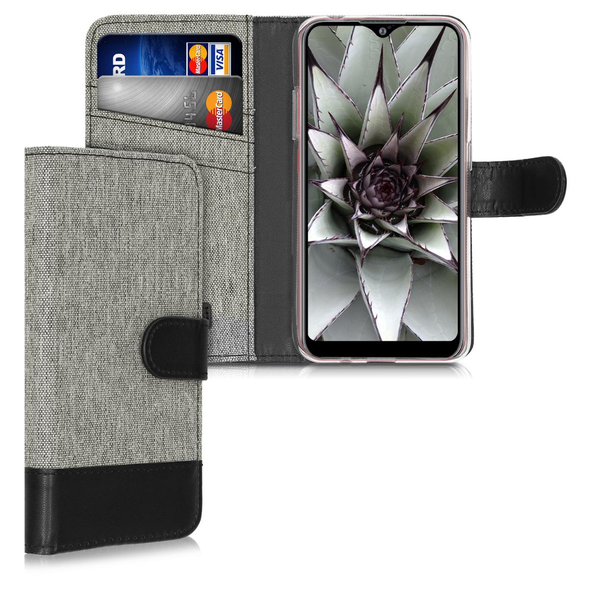 Fabricpouzdro pro Samsung A01 - šedé / černé