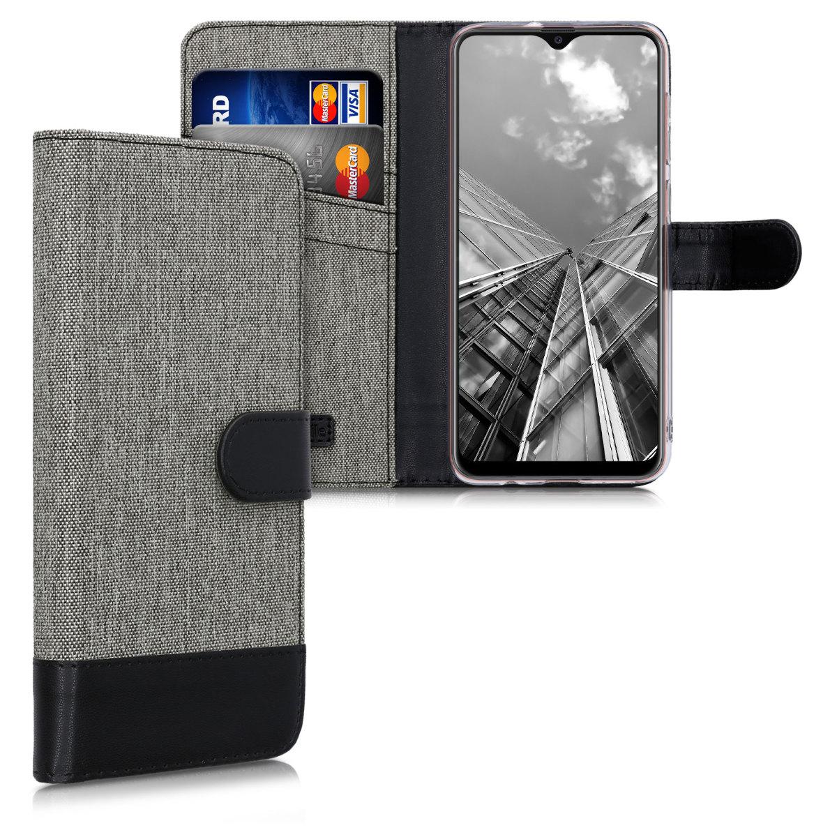Fabricpouzdro pro Samsung A20 - šedé / černé
