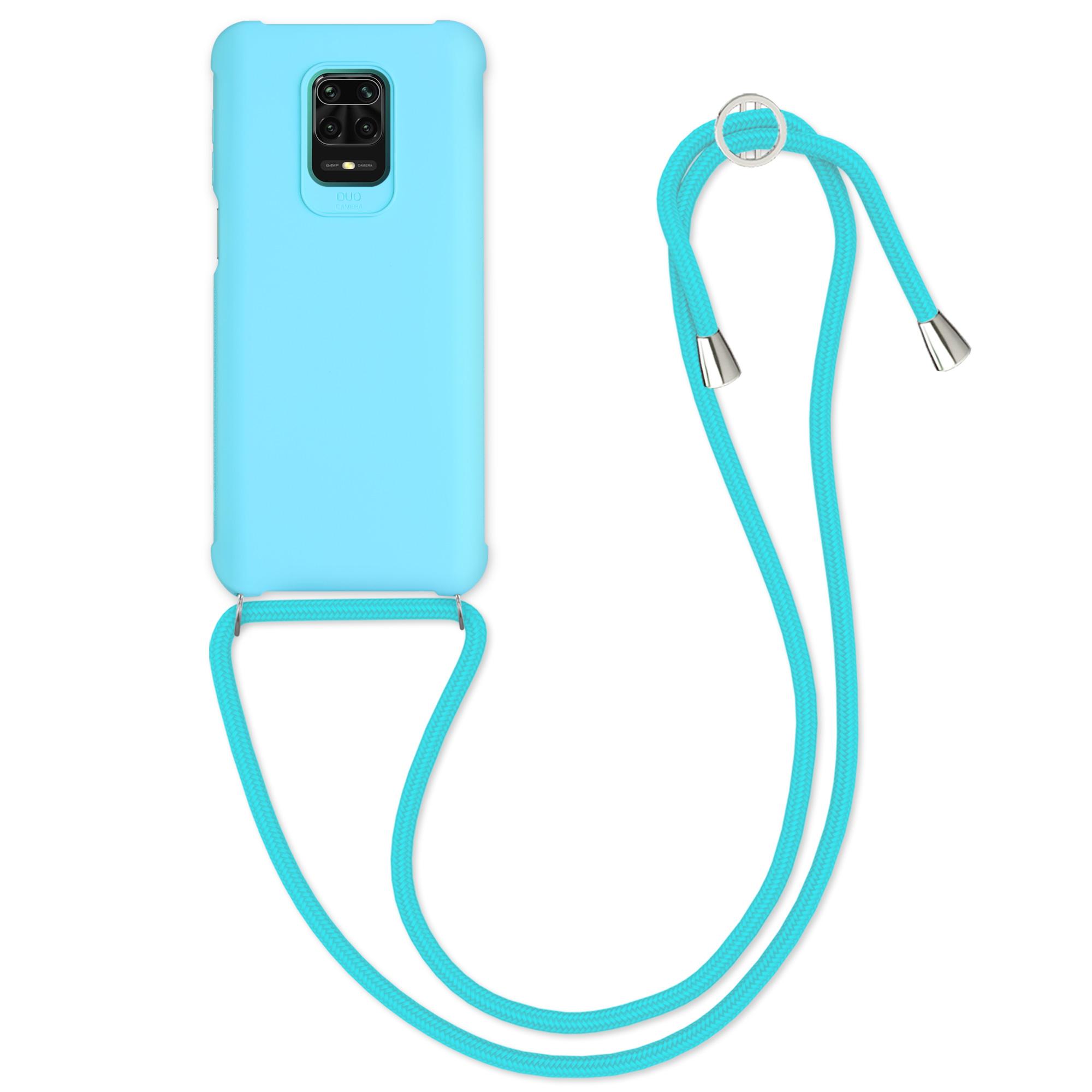 MatteTPUpouzdro | obal pro Xiaomi Redmi Note 9S | 9 Pro | 9 - Světle modrý
