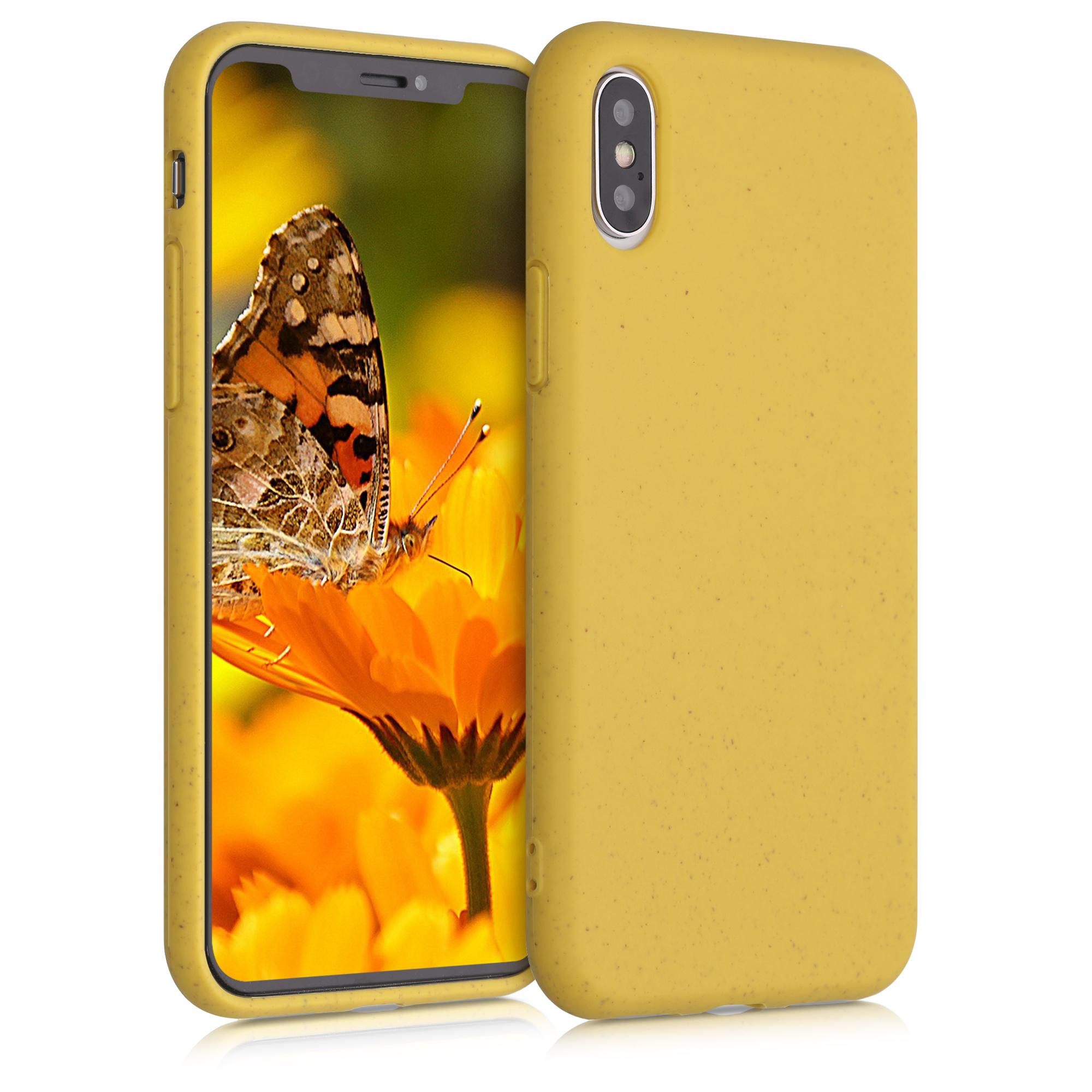 Kvalitní silikonové TPU pouzdro pro Apple iPhone XS - Žlutá