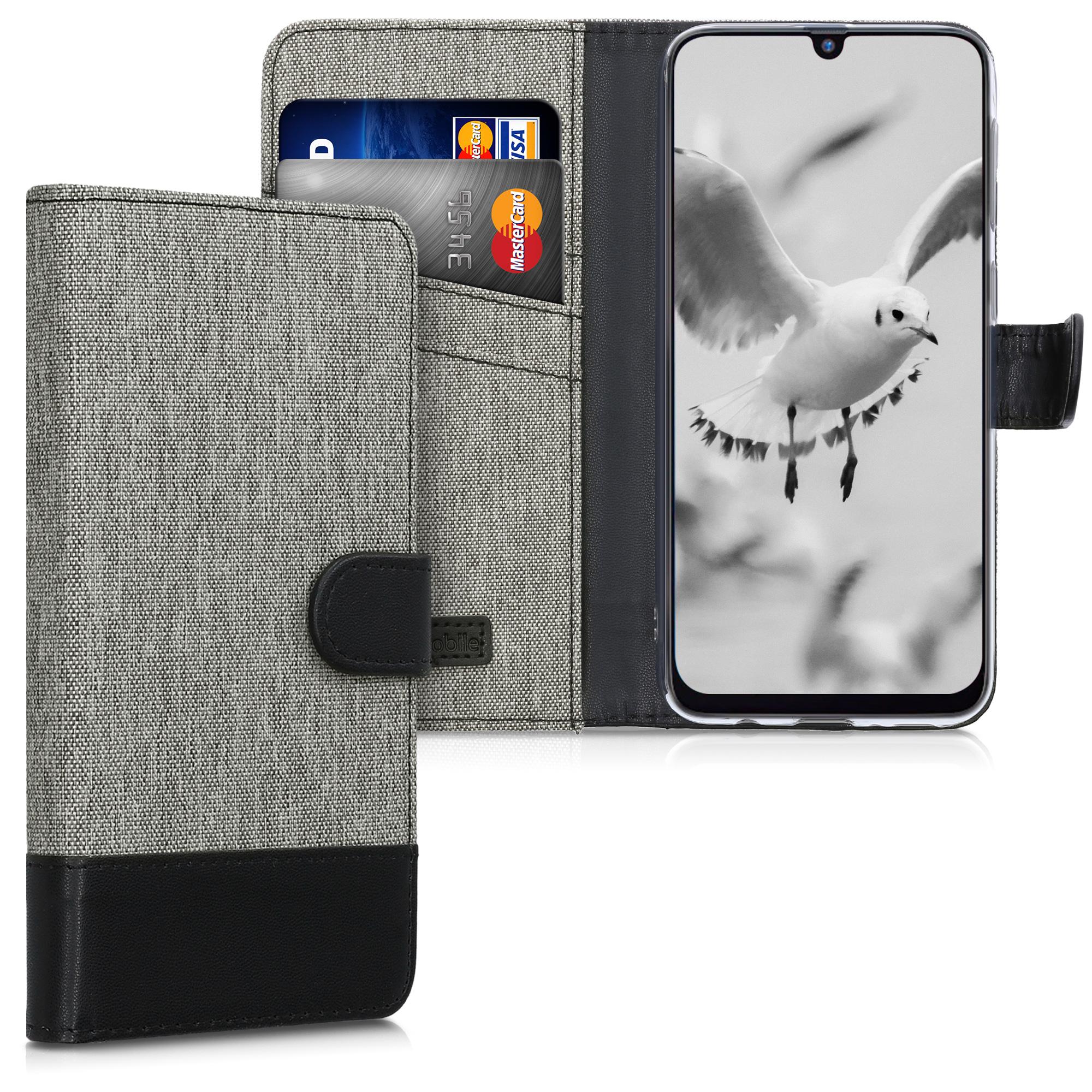 Fabricpouzdro pro Samsung M21 - Šedá / černá