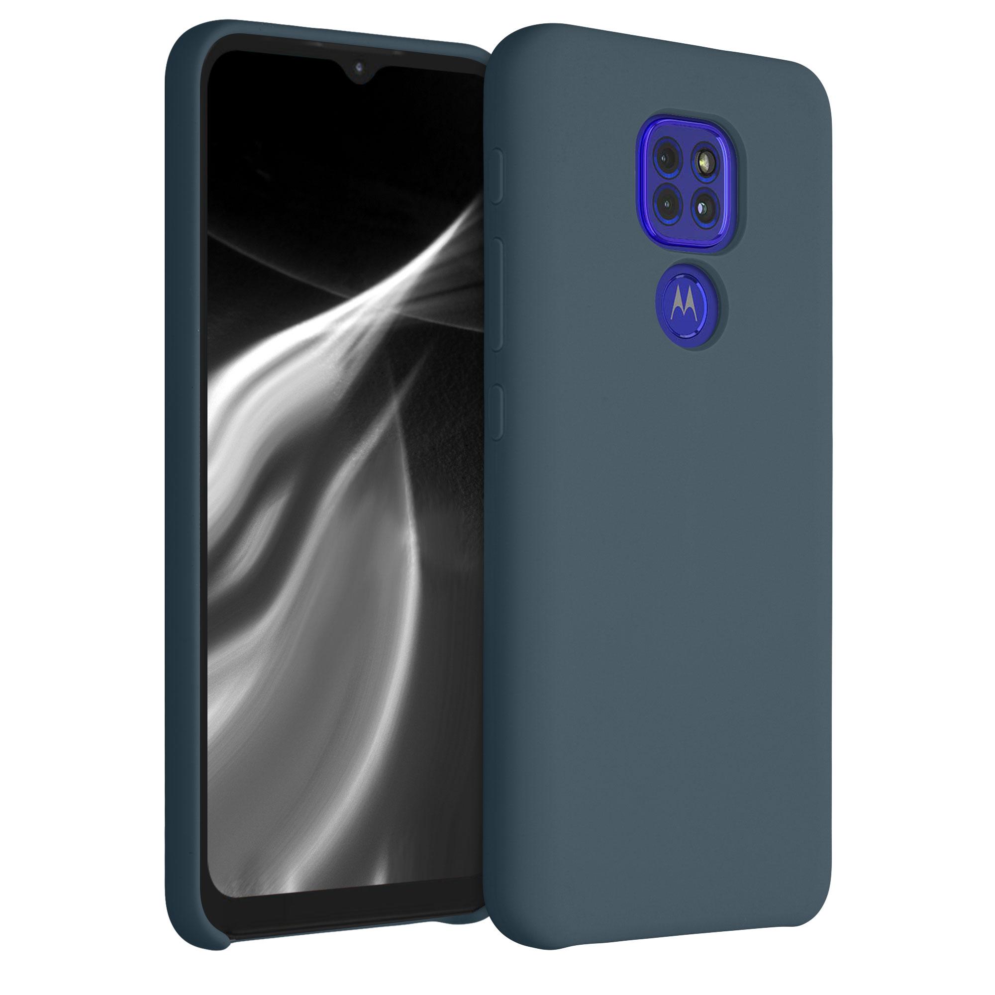 Kvalitní silikonové TPU pouzdro   obal pro Motorola Moto G9 Play / Moto E7 Plus - Břidlicově šedá