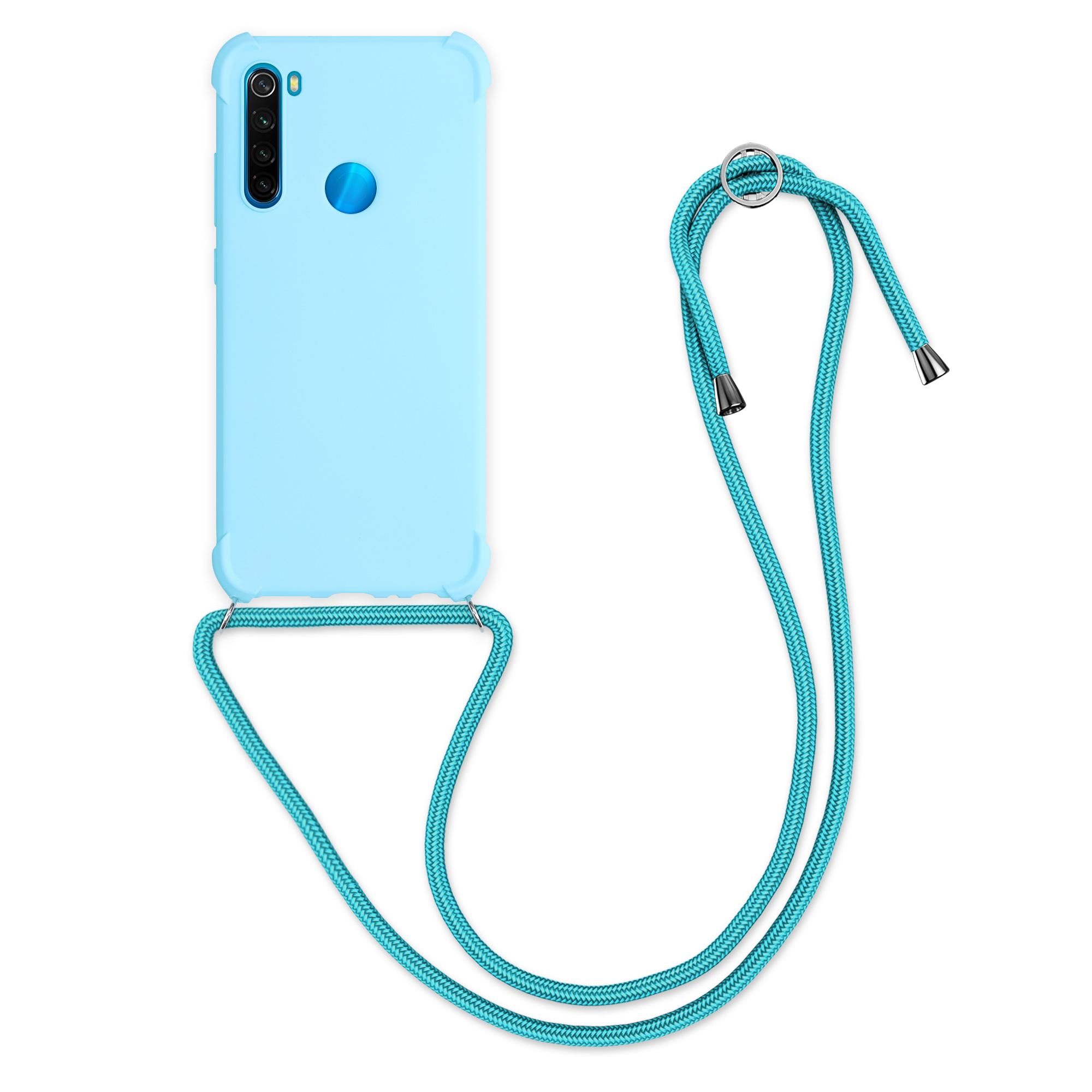 MatteTPUpouzdro | obal pro Xiaomi Redmi Note 8 - Světle modrý
