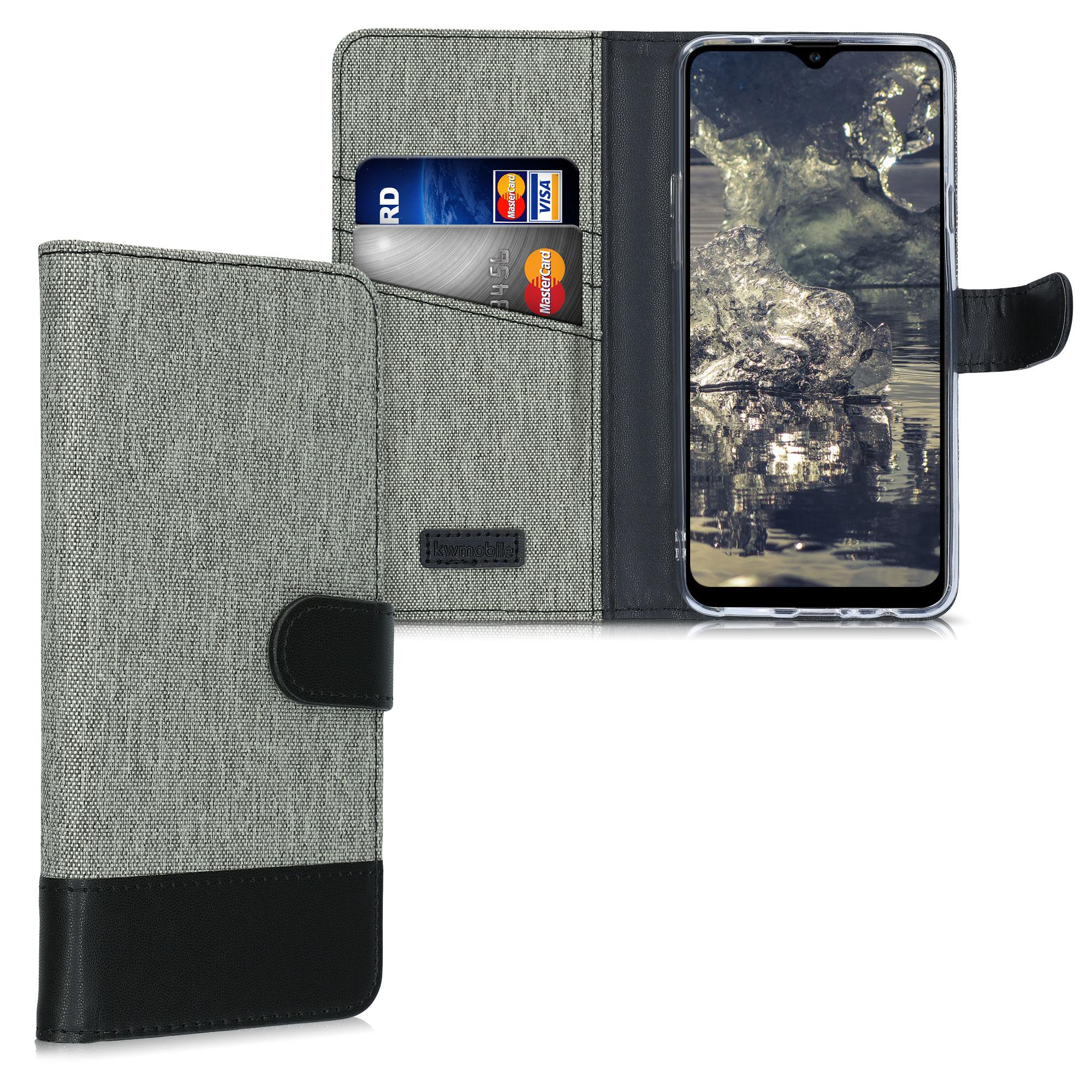 Fabricpouzdro pro Samsung A20s - šedé / černé