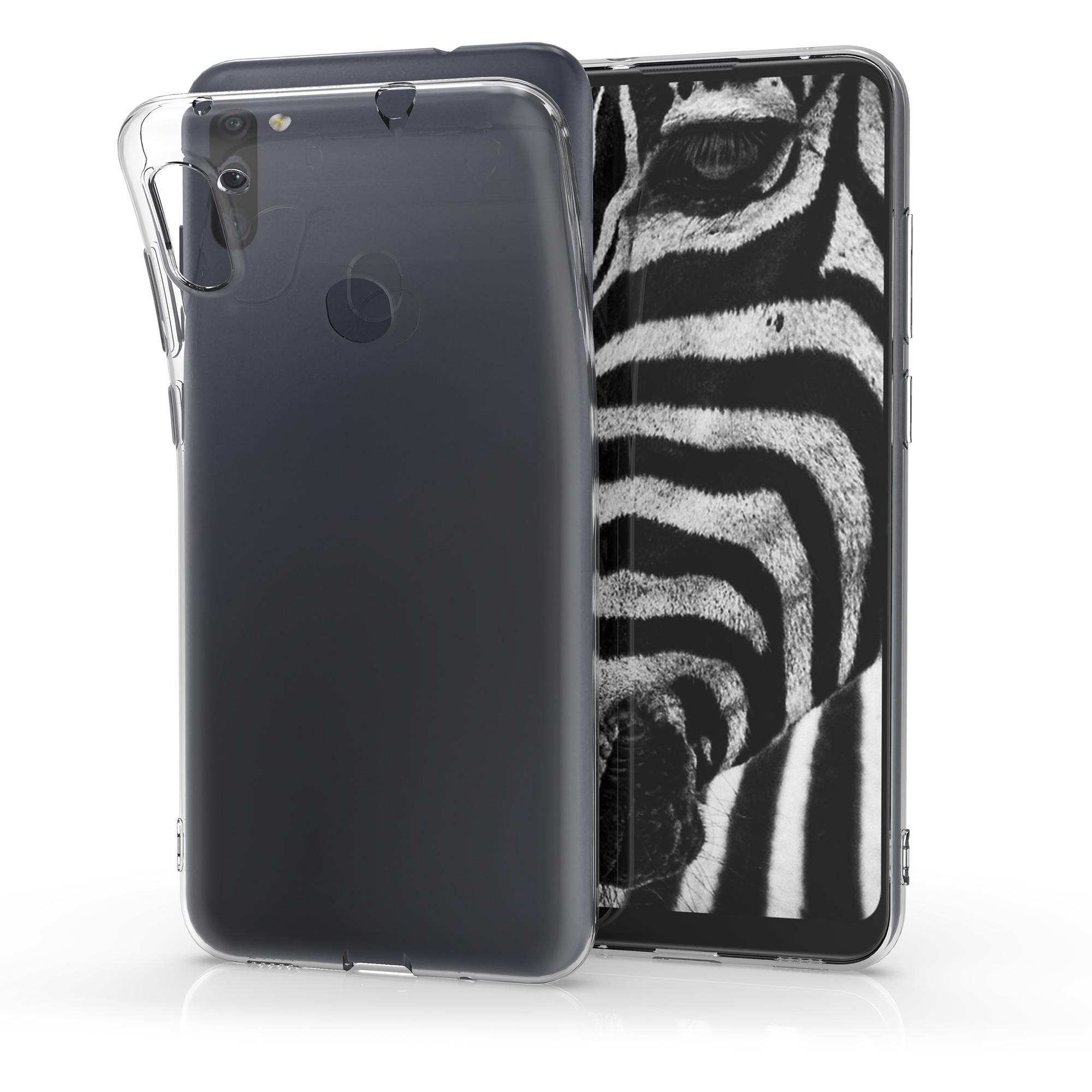 Kvalitní silikonové TPU pouzdro pro Samsung M11 - průhledné