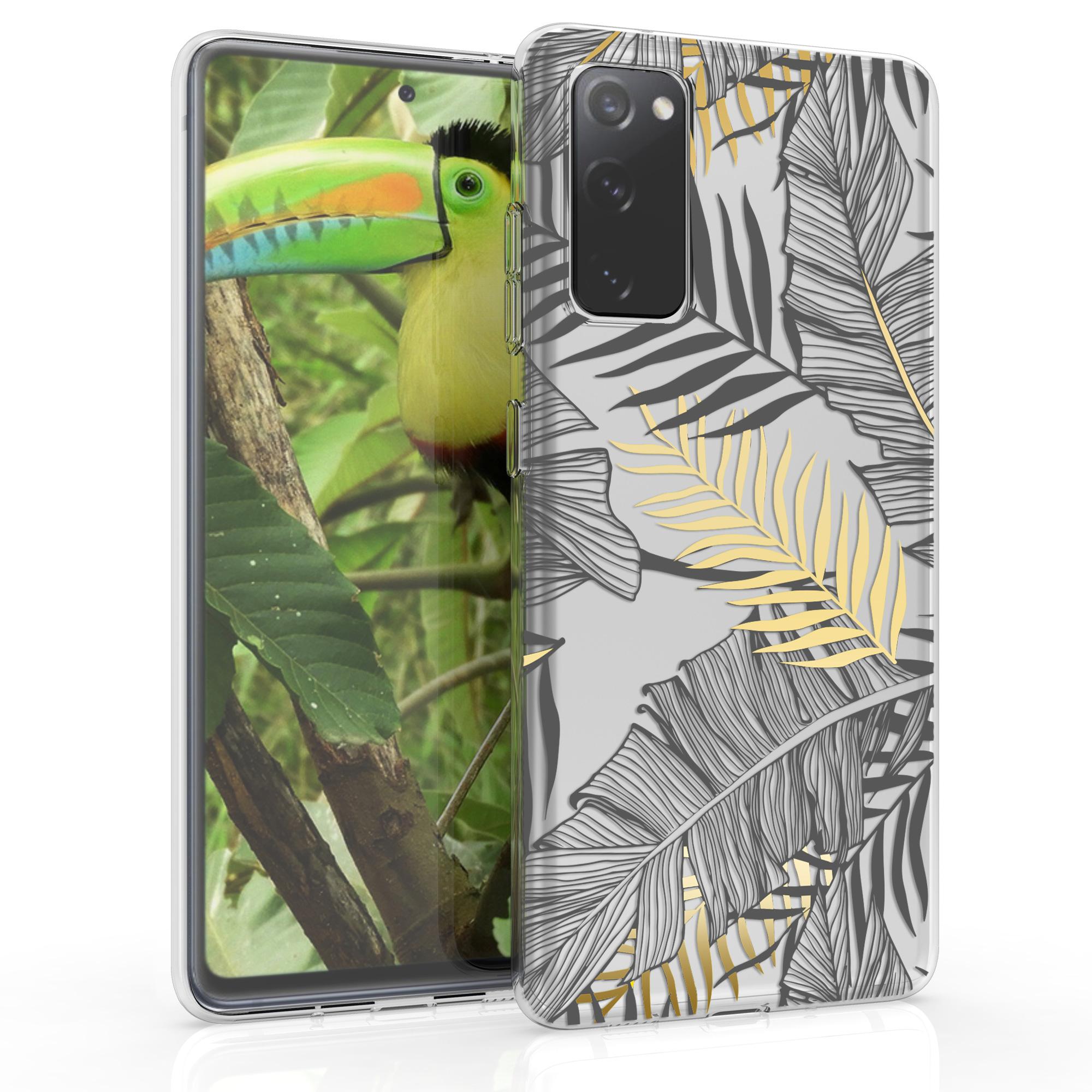 Silikonové pouzdro / obal pro Samsung S20 FE s motivem palmy